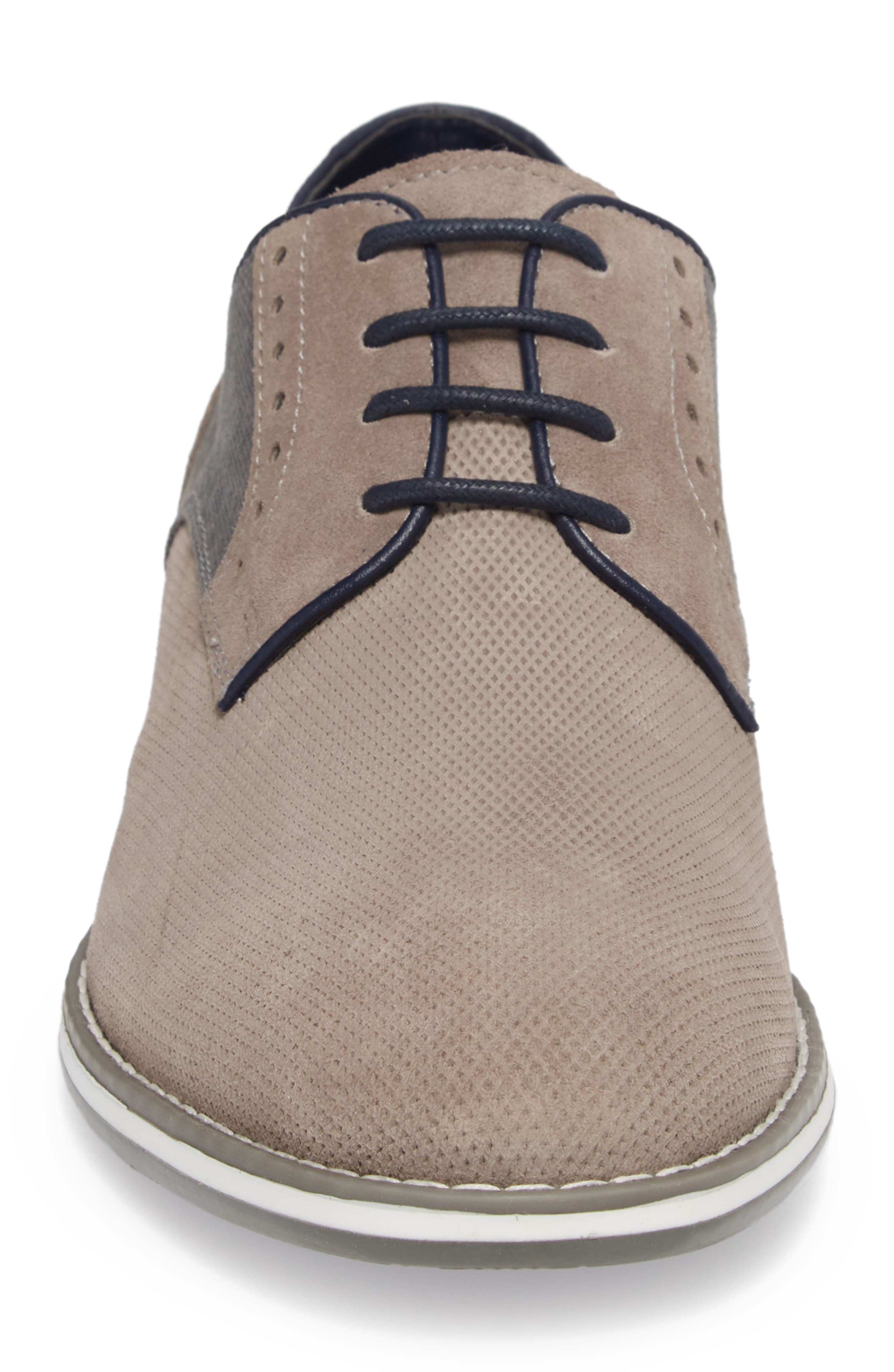 Weiser Lace-up Derby,                             Alternate thumbnail 4, color,                             Grey