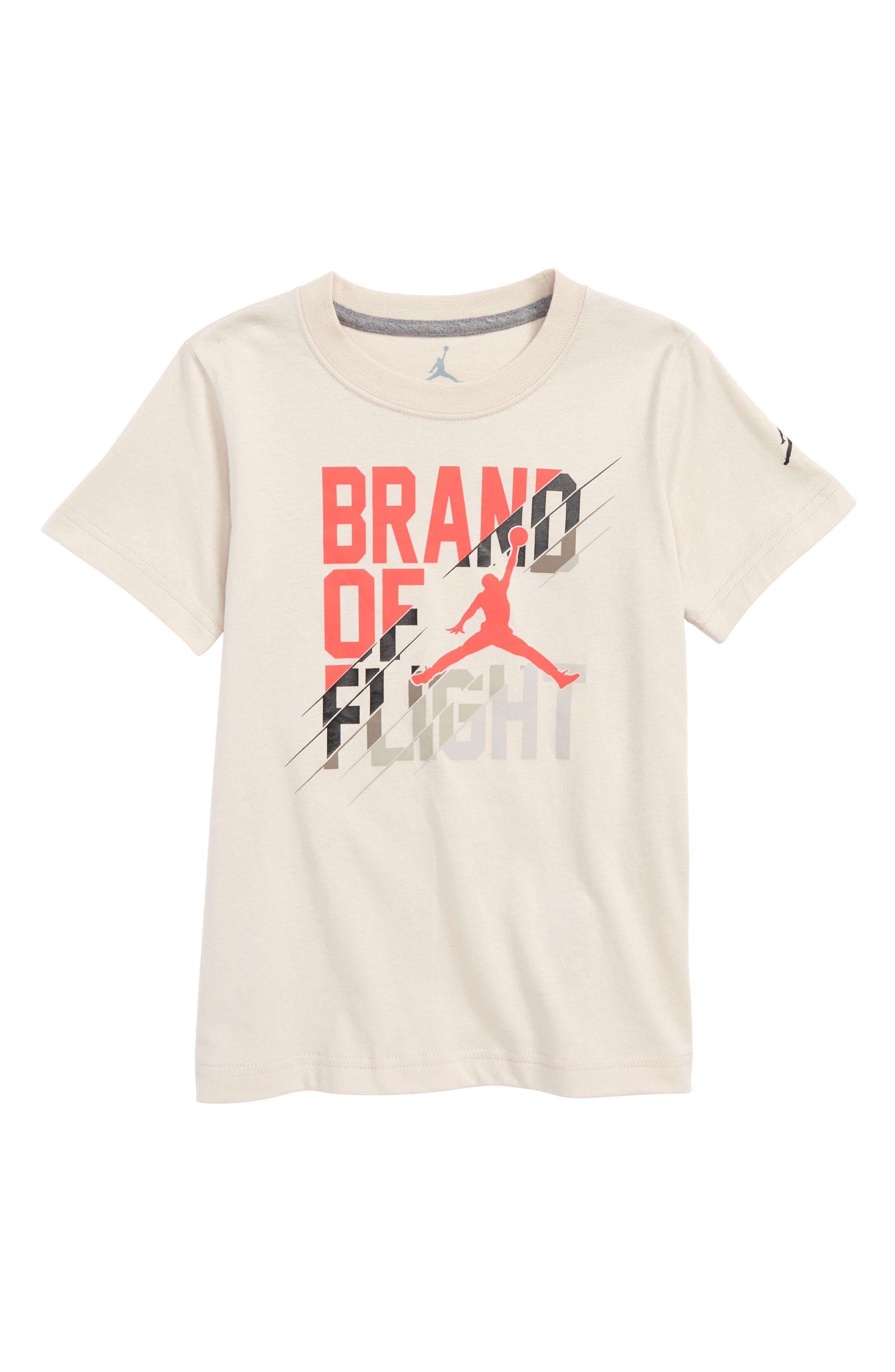 Jordan Cut to the Rim T-Shirt,                         Main,                         color, Desert Sand