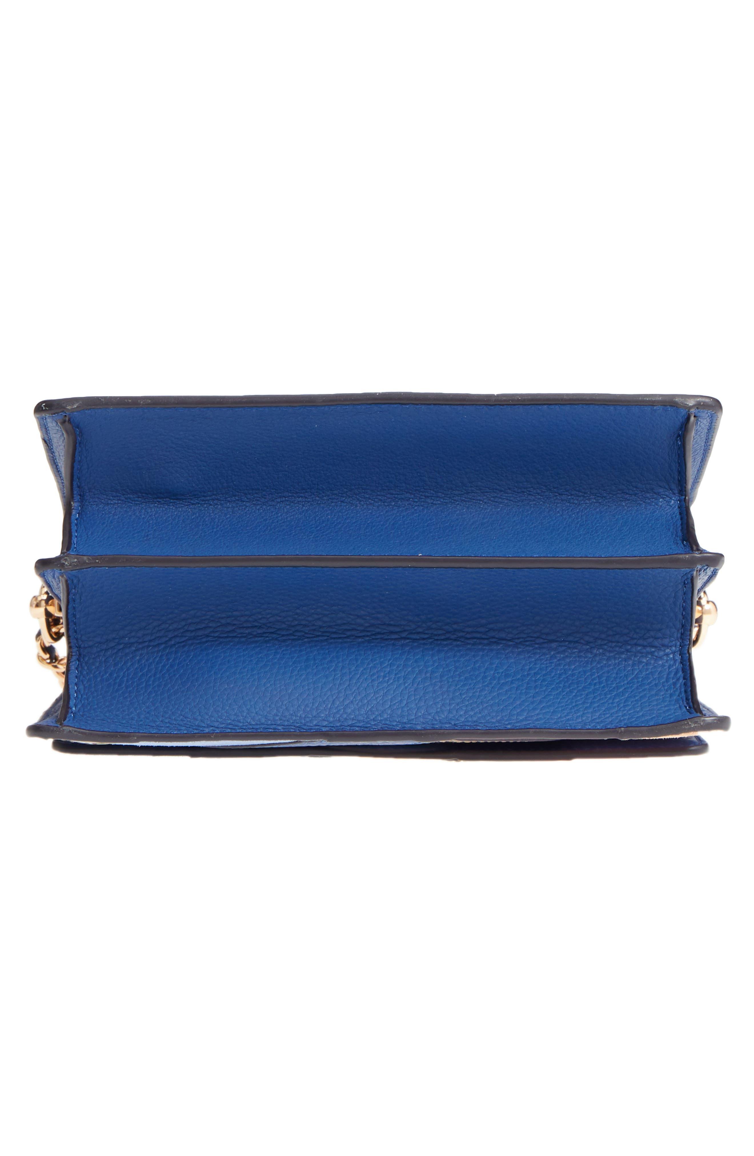 Robinson Pieced Shoulder Bag,                             Alternate thumbnail 6, color,                             Navy Multi