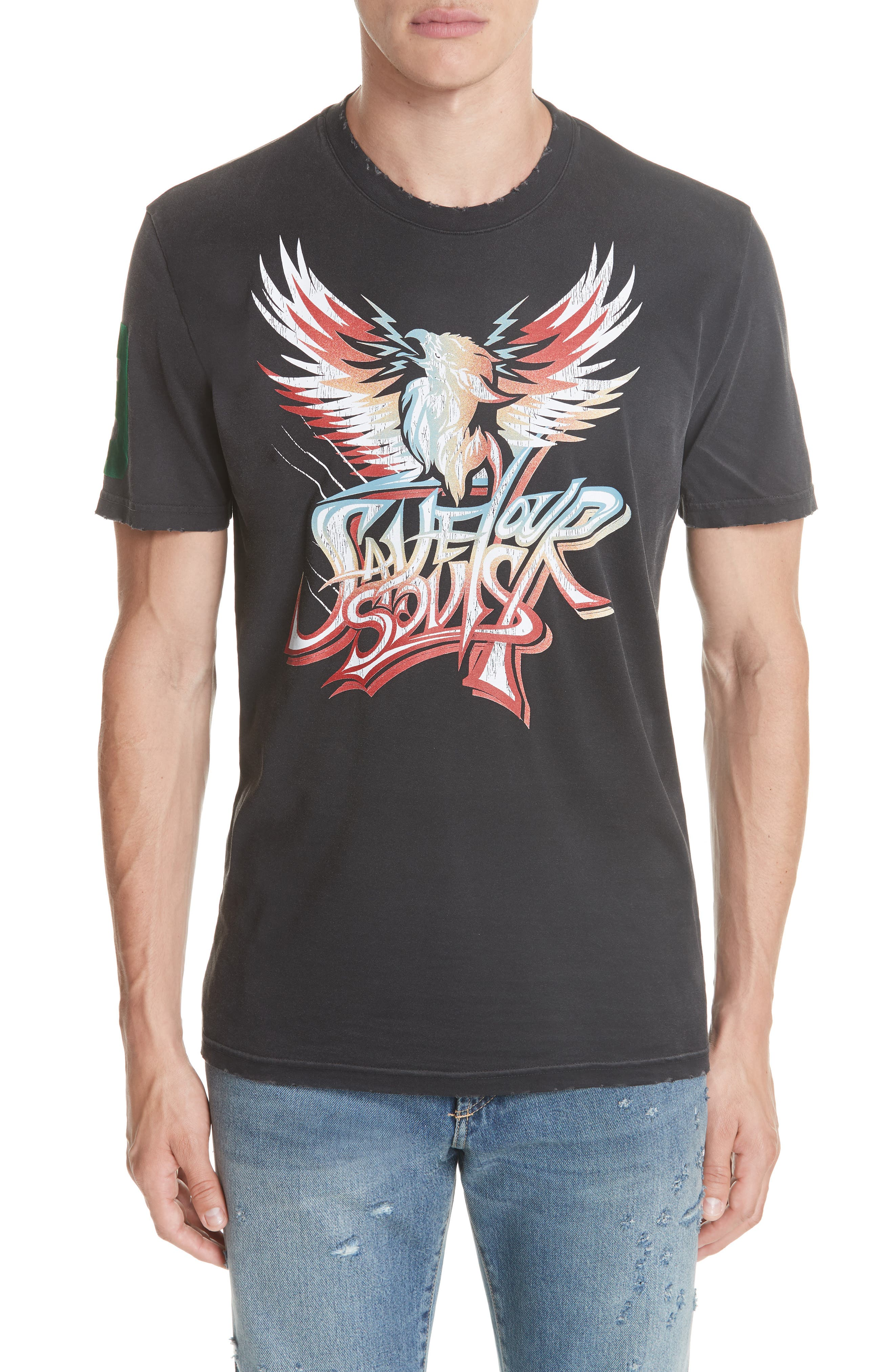 Givenchy Save Our Soul Graphic T-Shirt