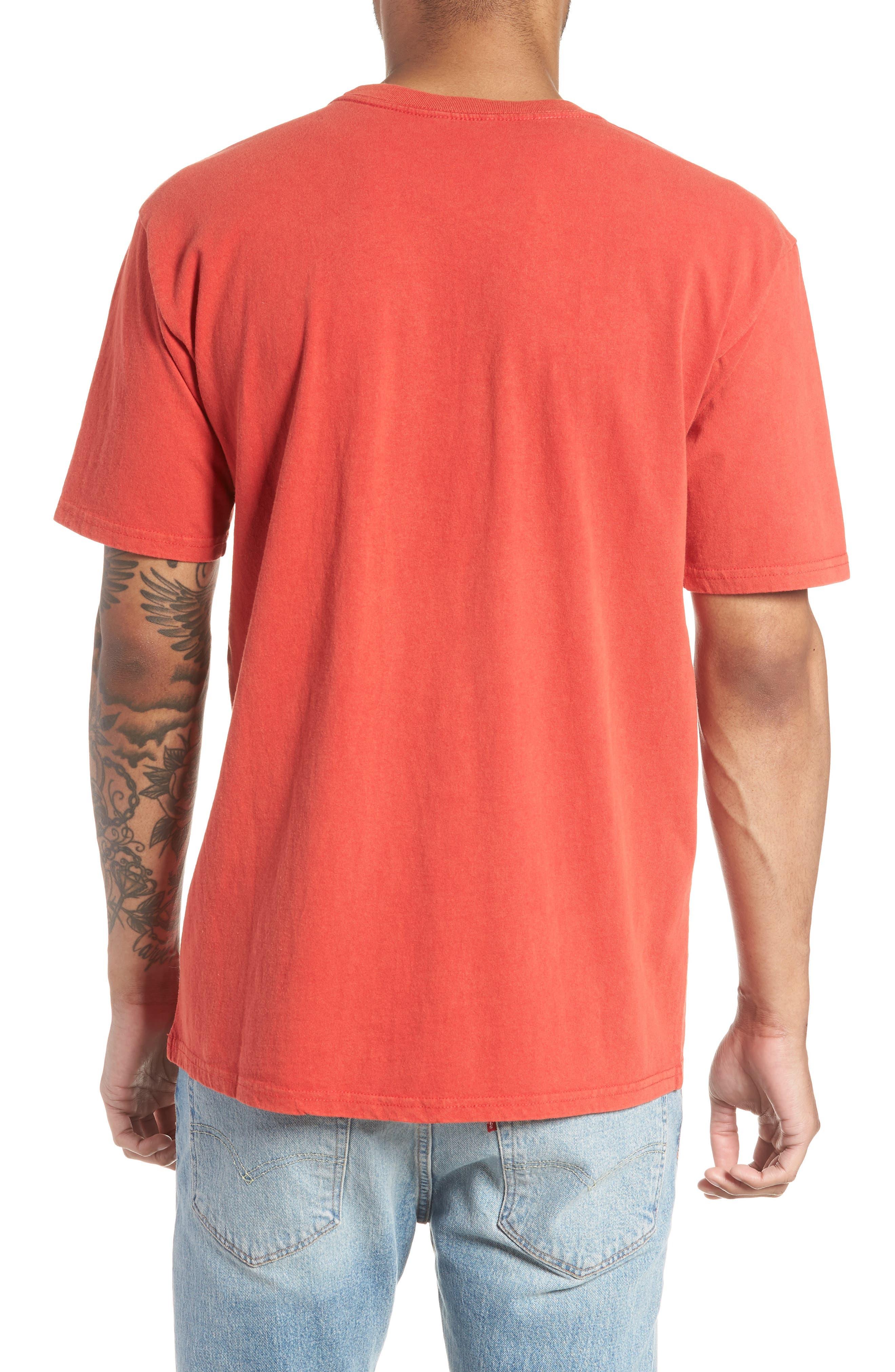 Burnout Graphic T-Shirt,                             Alternate thumbnail 2, color,                             Cayenne