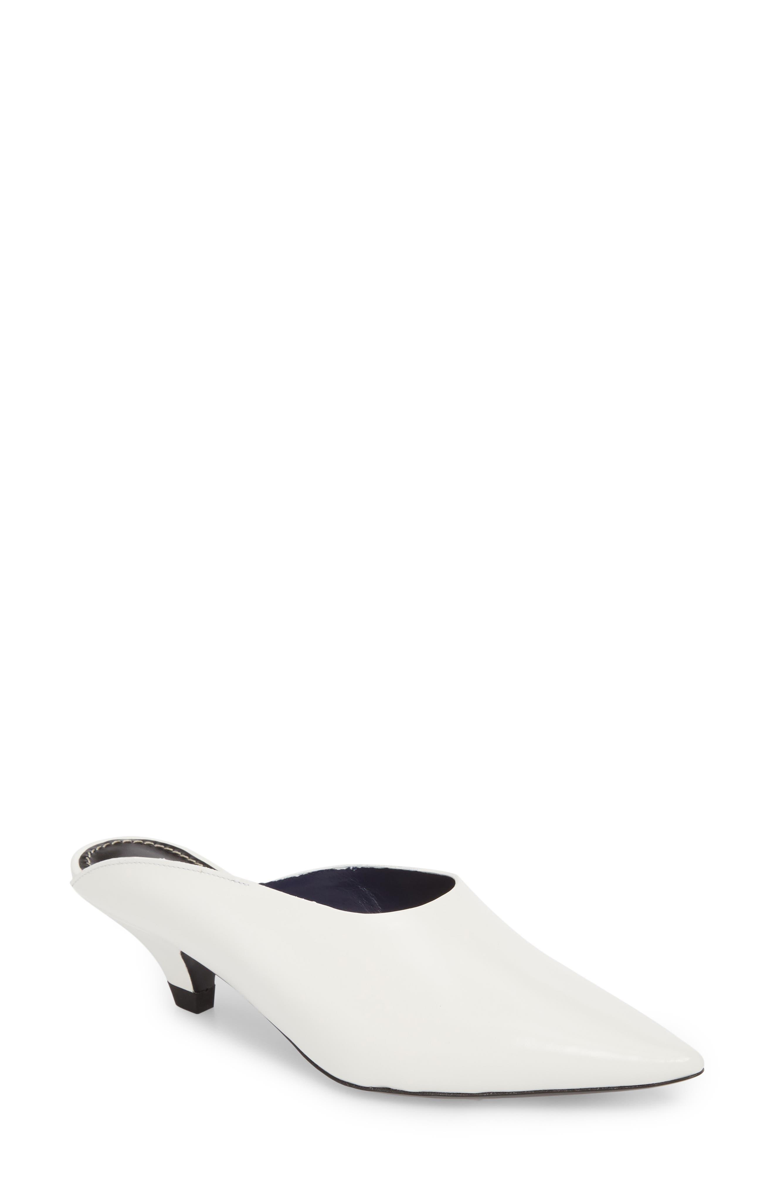 Proenza Schouler Asymmetric Pointy Toe Mule (Women)