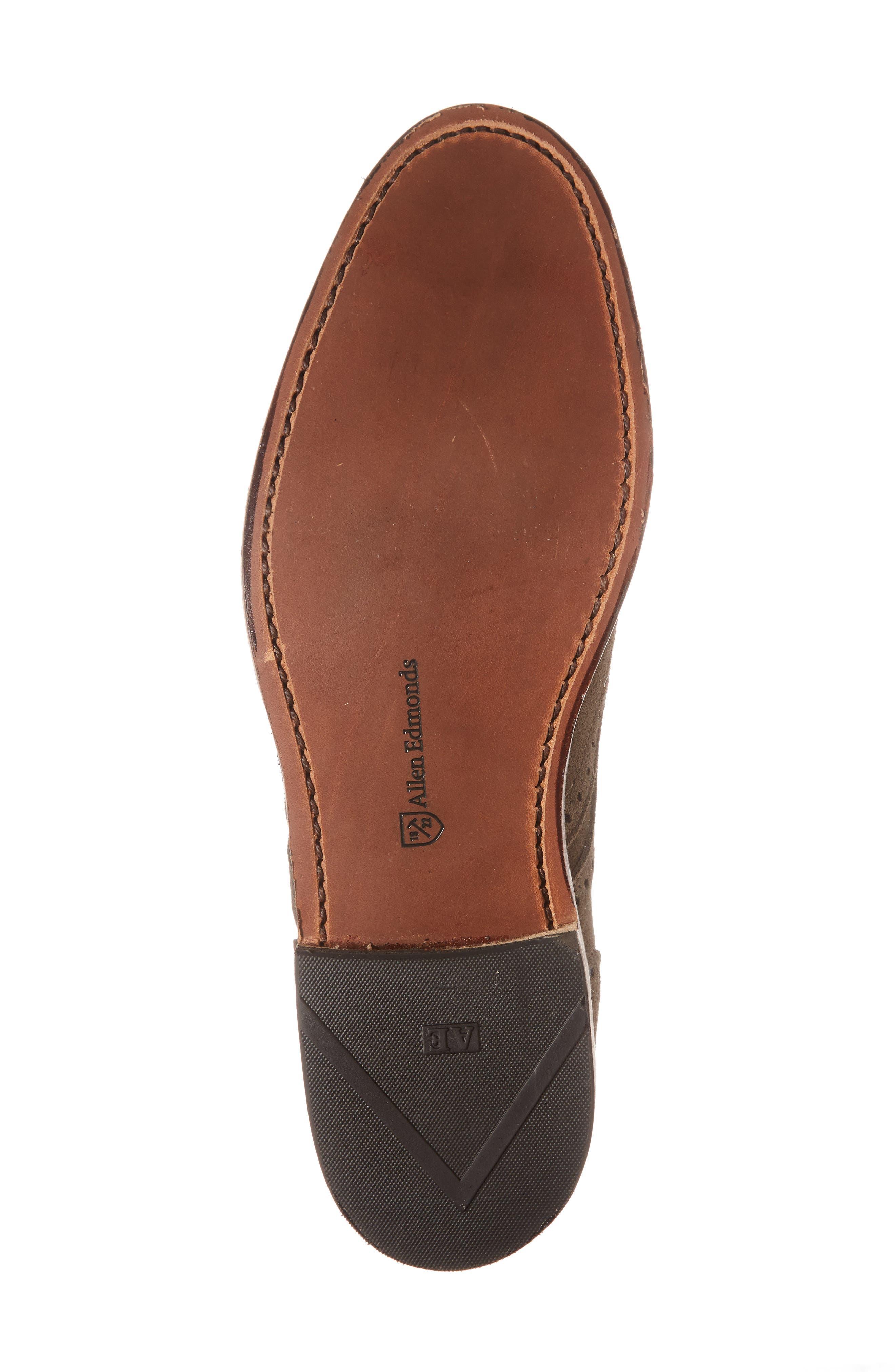 Shane Wingtip Derby,                             Alternate thumbnail 6, color,                             Slate Leather