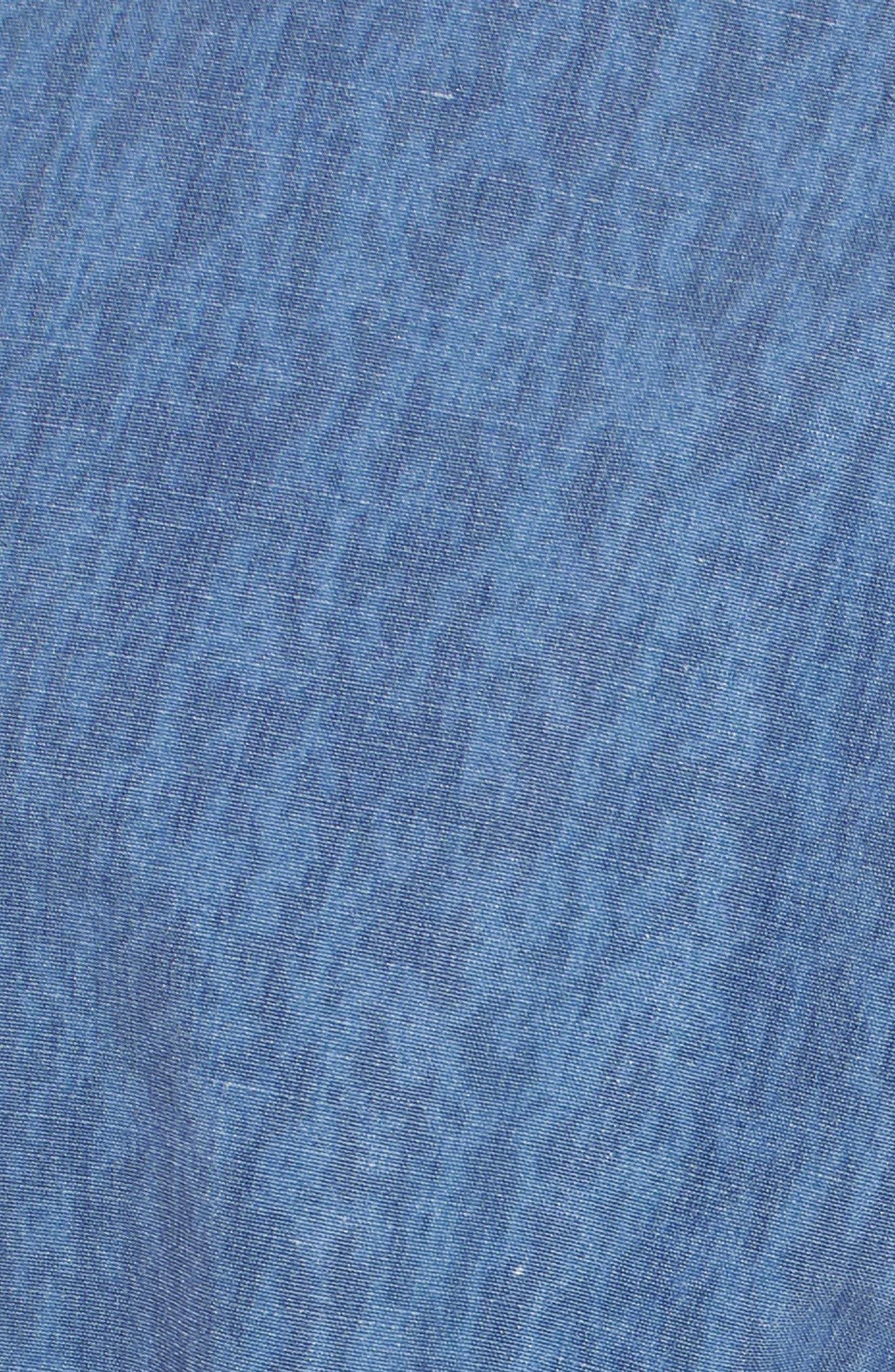 Side Fi Stoney Board Shorts,                             Alternate thumbnail 5, color,                             Blue Free