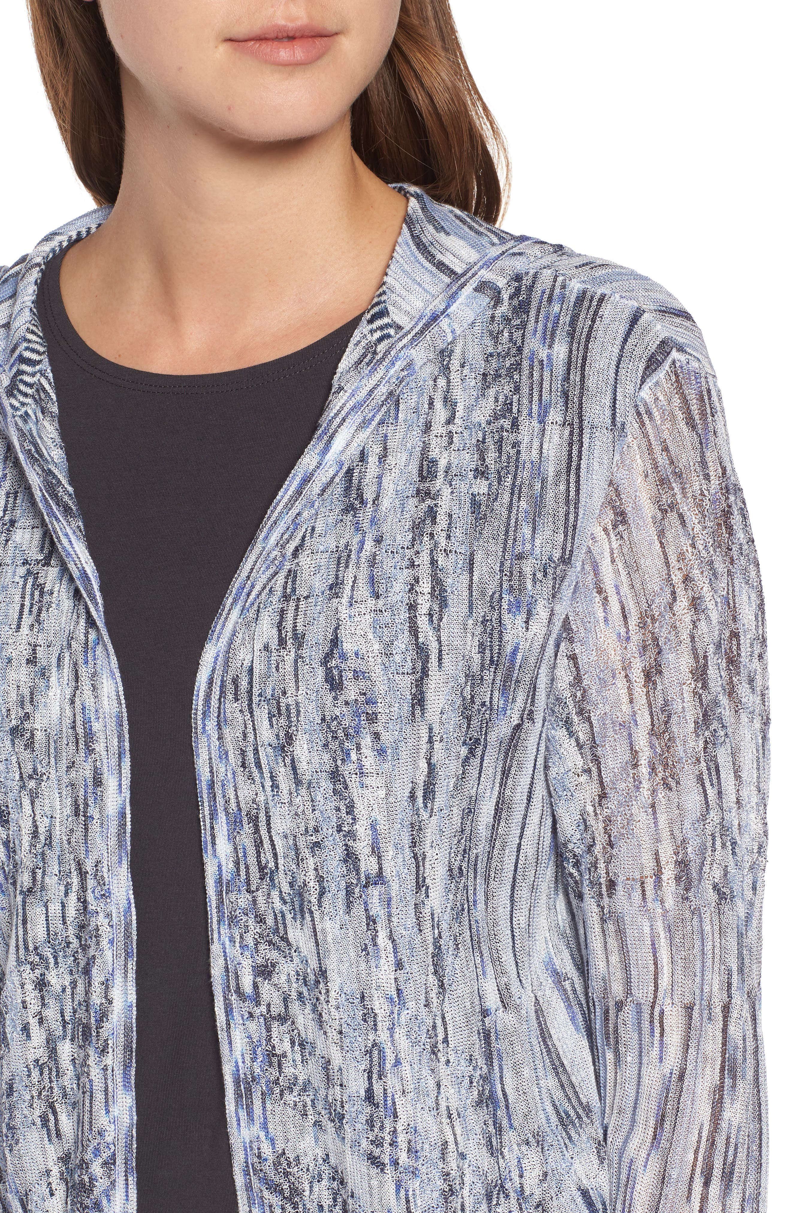 New Frontier Hooded Cardigan,                             Alternate thumbnail 4, color,                             Multi