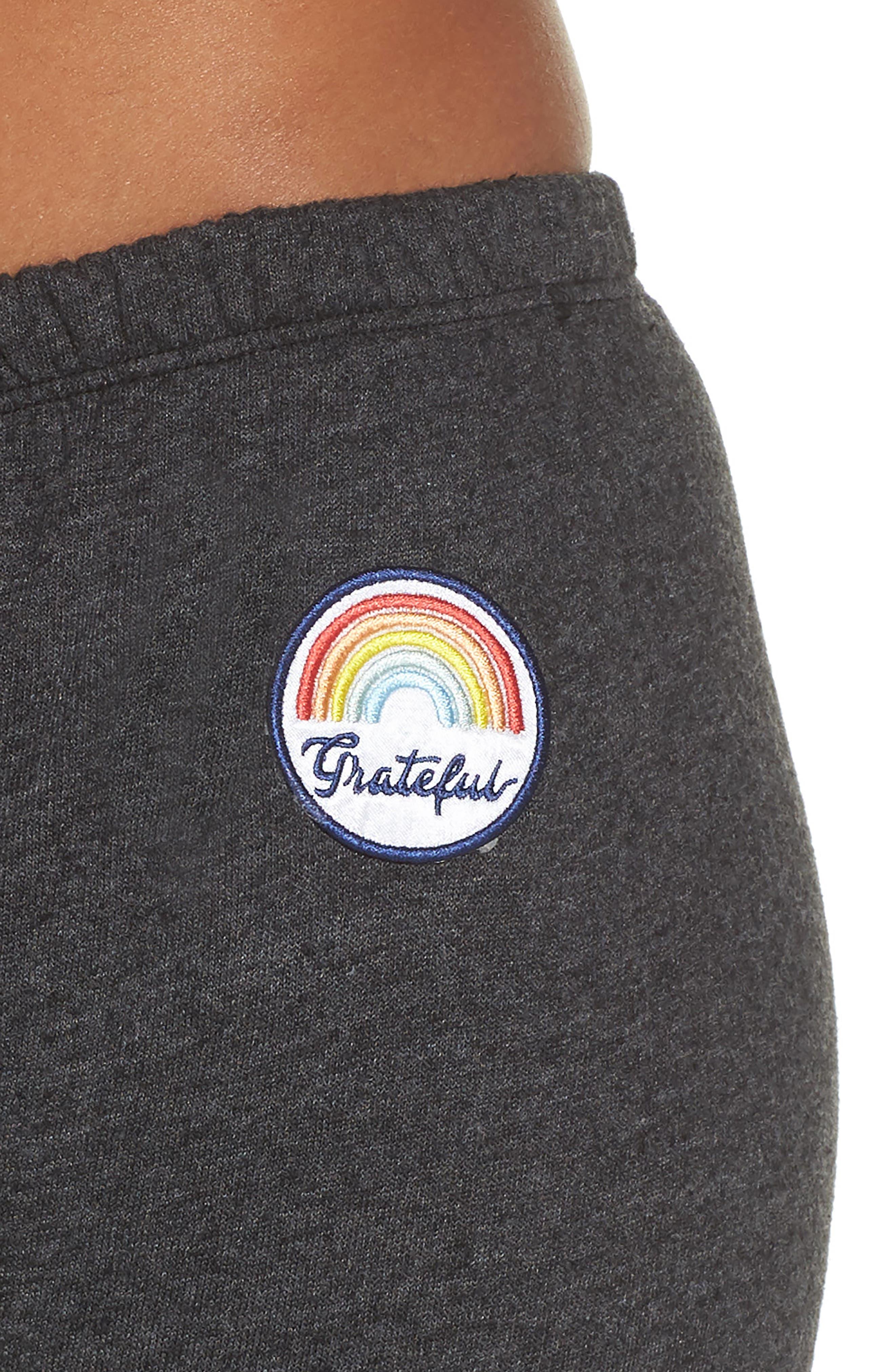 Grateful Perfect Knit Pants,                             Alternate thumbnail 4, color,                             Vntg Black