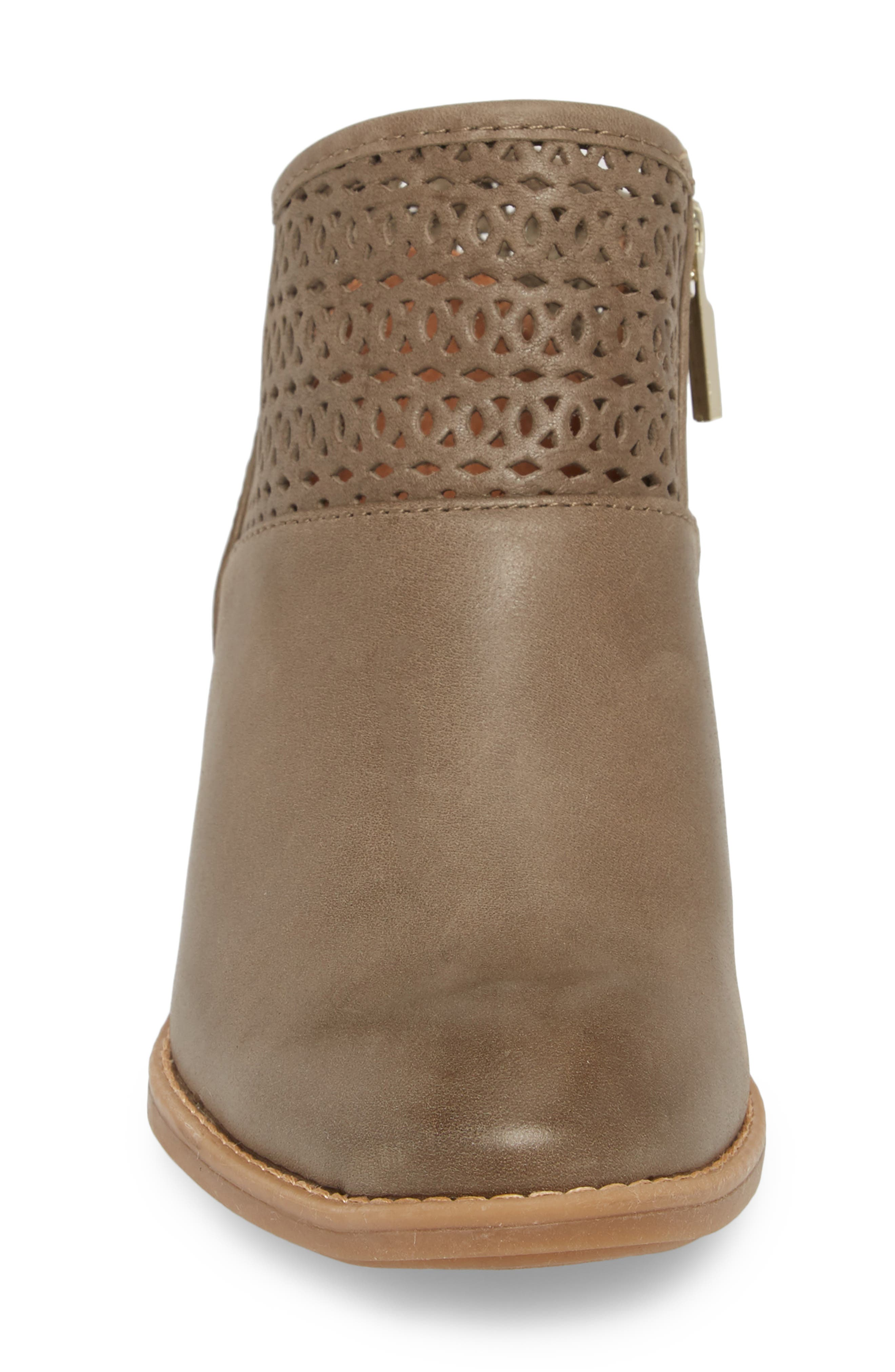Caileen Bootie,                             Alternate thumbnail 4, color,                             Pale Olive