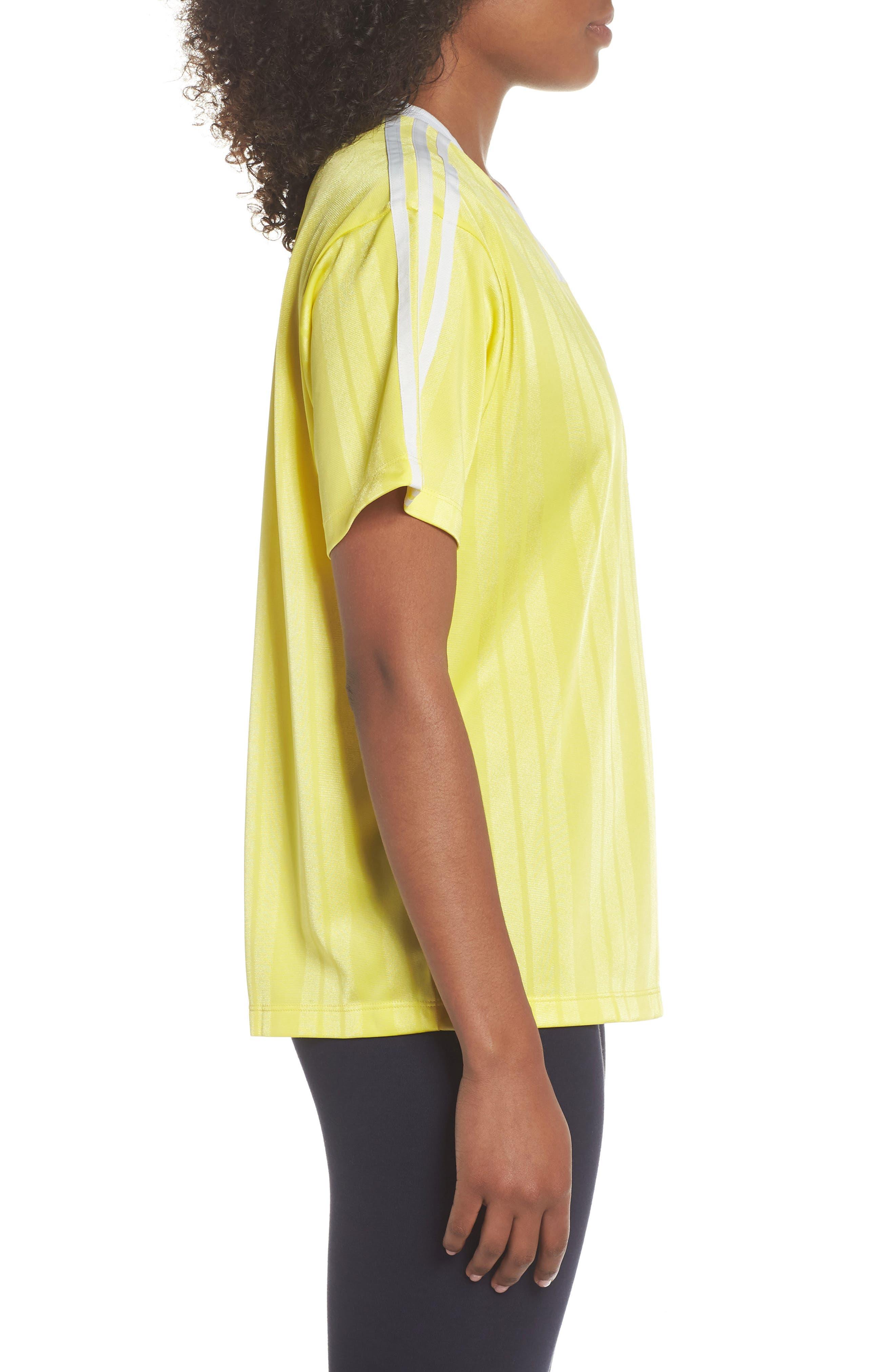 Originals Fashion League Jersey Tee,                             Alternate thumbnail 3, color,                             Prime Yellow