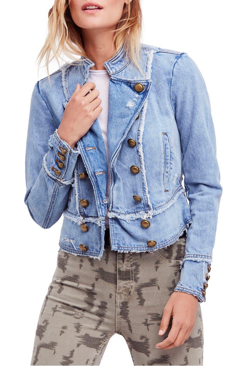 Ferry Cotton Denim Jacket