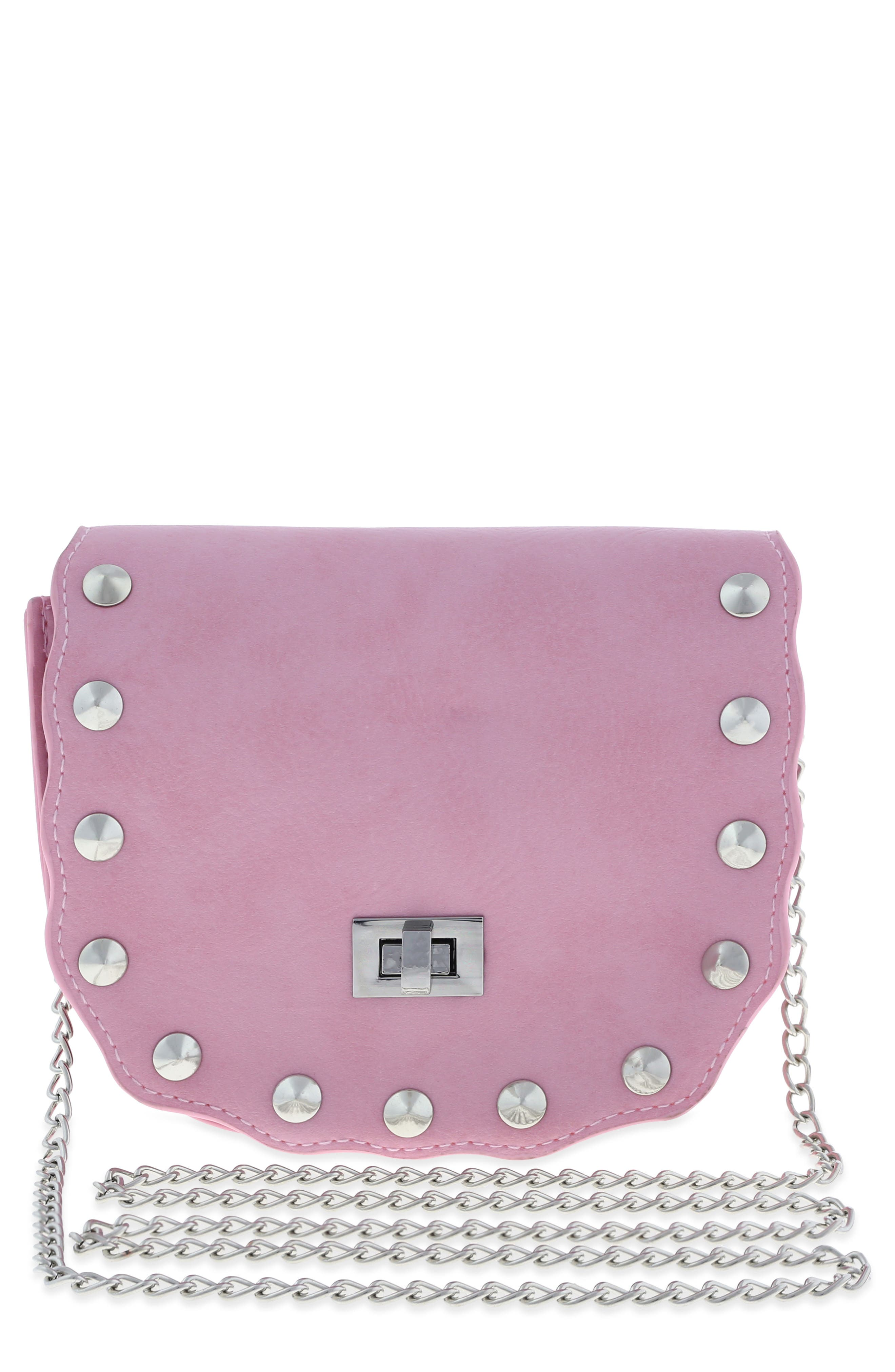 Studded Bag,                         Main,                         color, Pink Combo