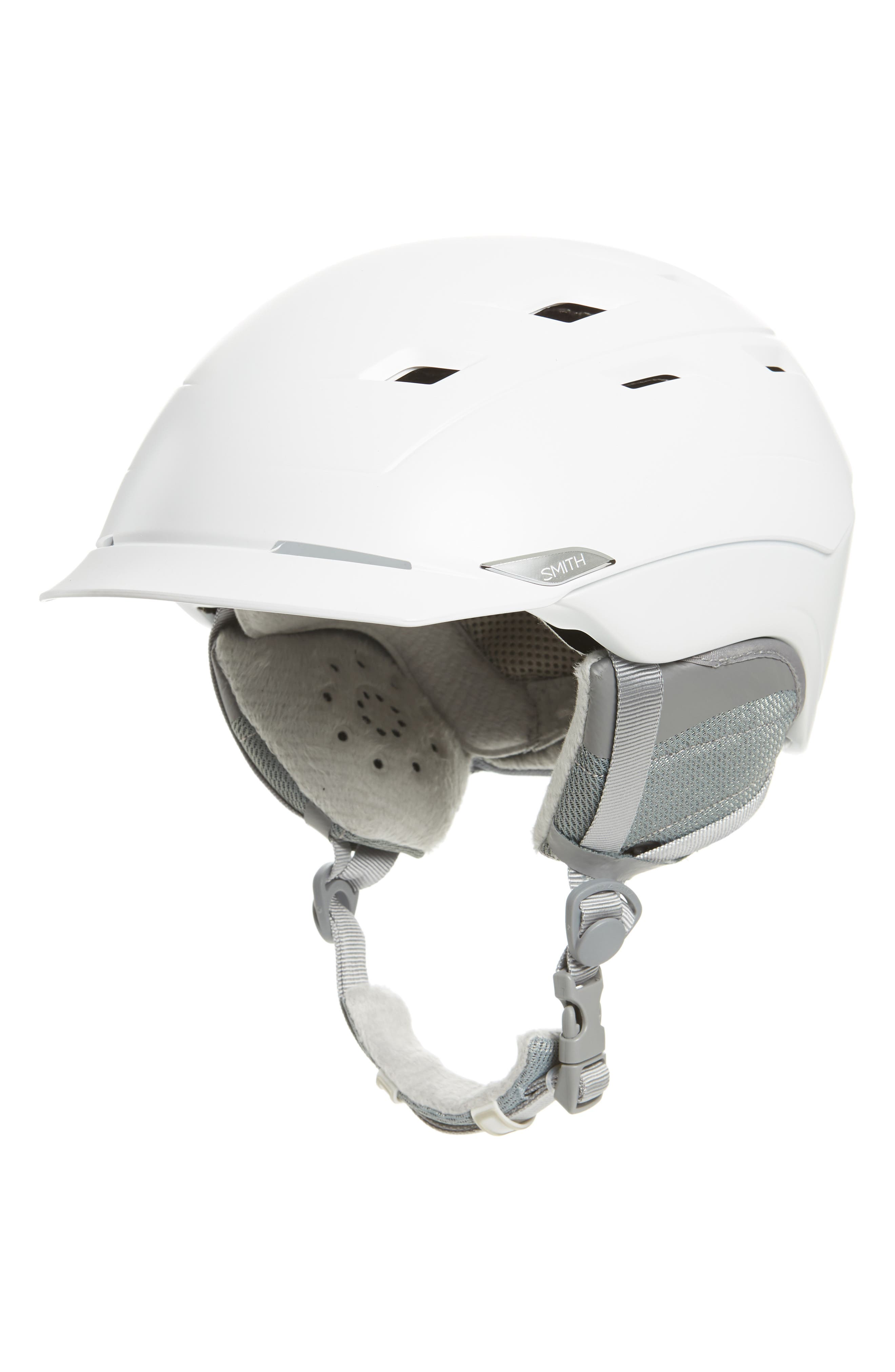 Valence with MIPS Snow Helmet,                             Main thumbnail 1, color,                             Satin White