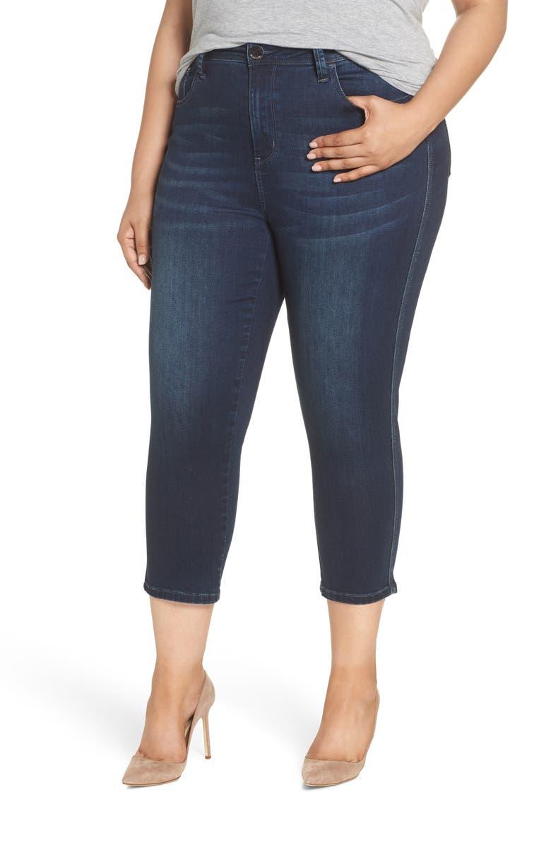 Slimaker Crop Skinny Jeans