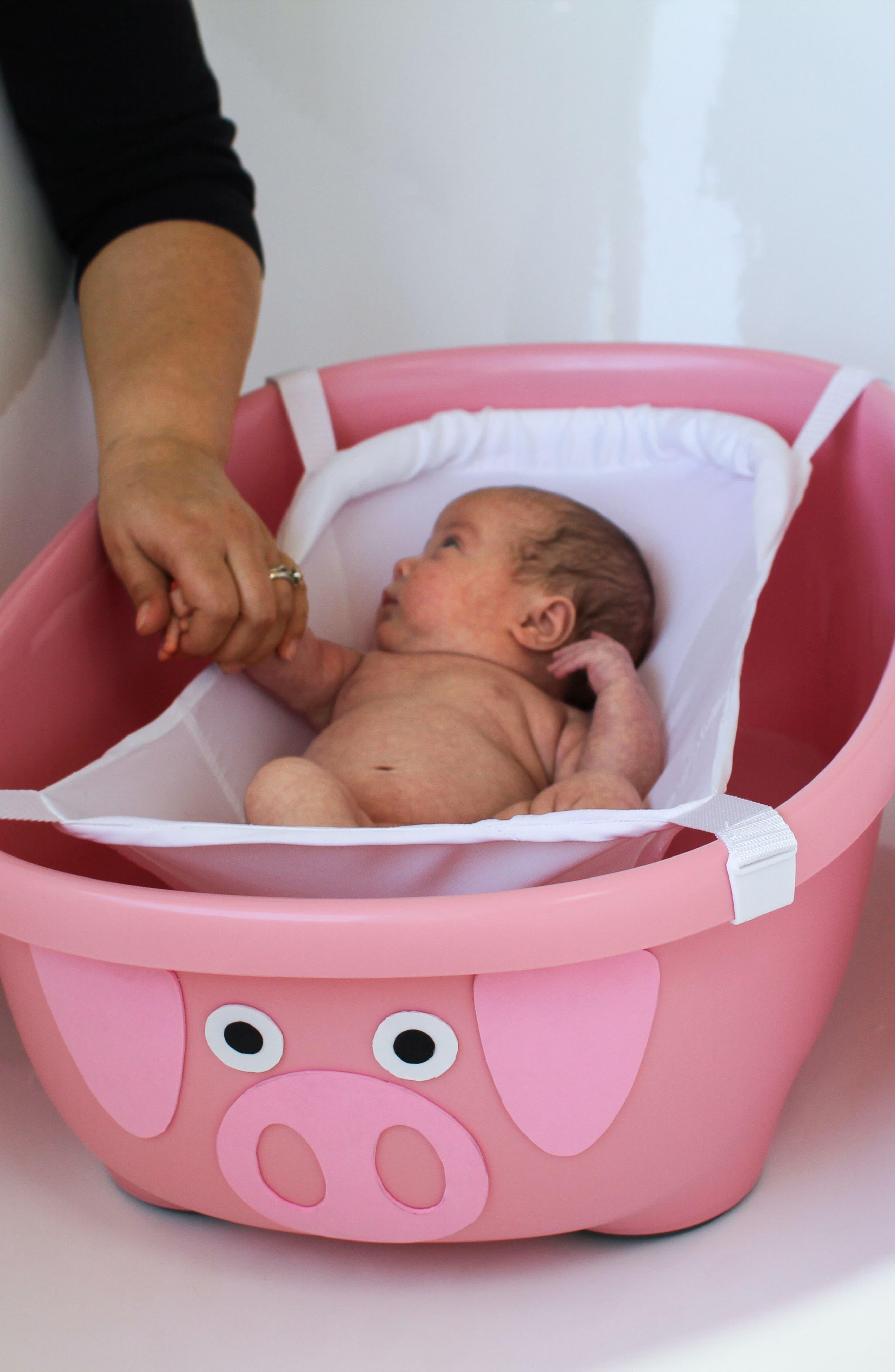 Tubimal<sup>™</sup> Infant & Toddler Convertible Pig Tub,                             Alternate thumbnail 2, color,                             Pig