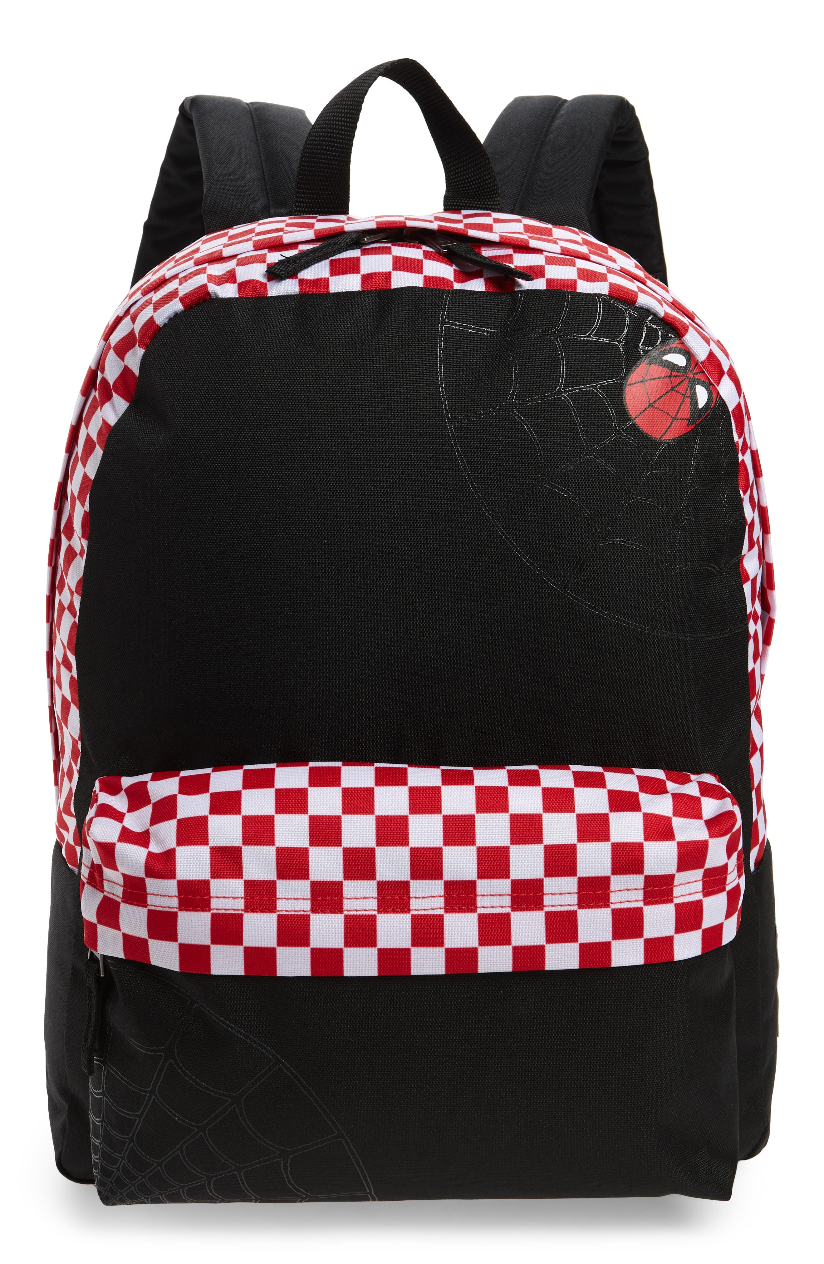 x Marvel<sup>®</sup> Spidey Realm Backpack,                         Main,                         color, Black/ Racing Red