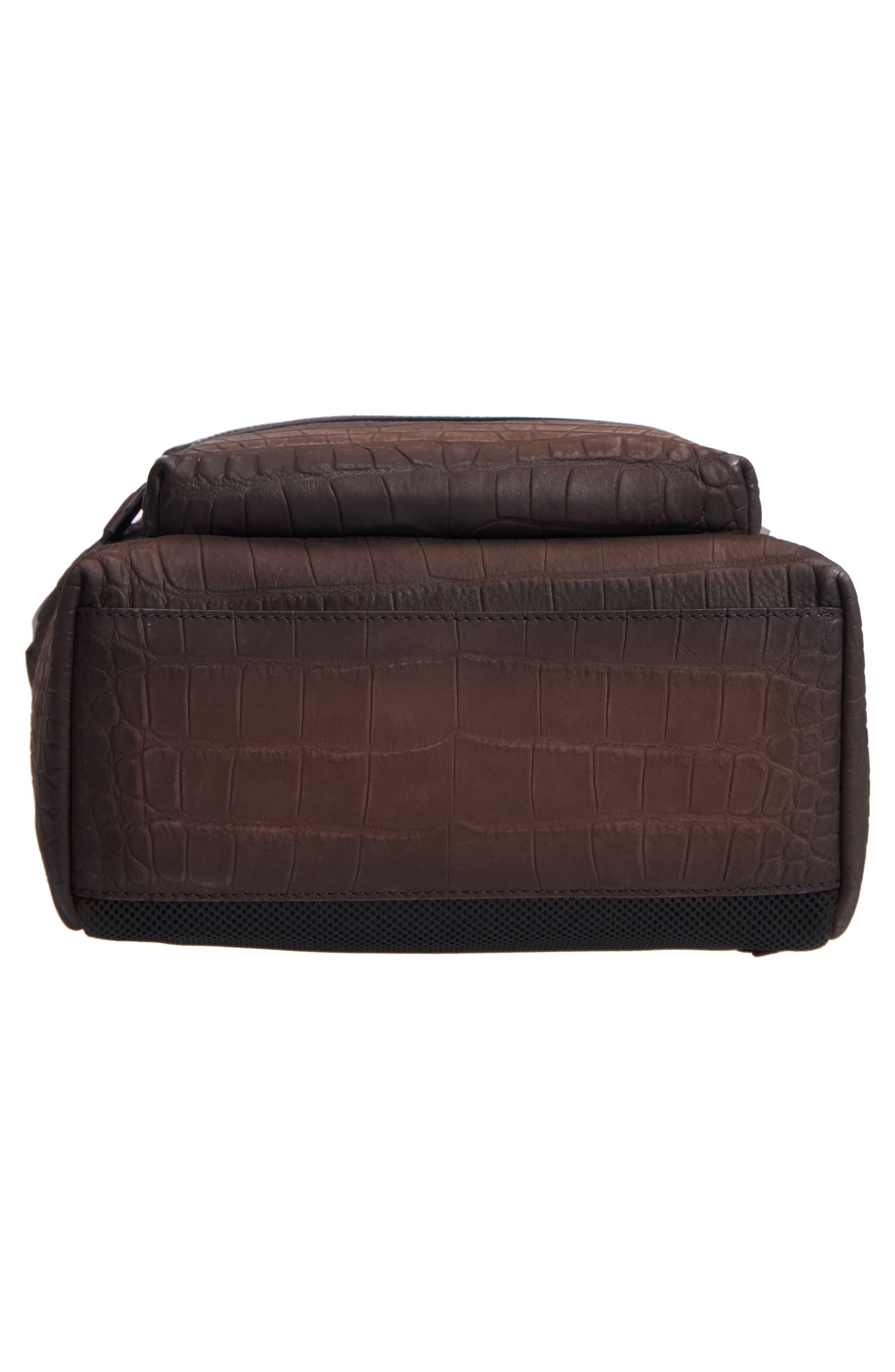 Firenze Leather Backpack,                             Alternate thumbnail 6, color,                             Moro