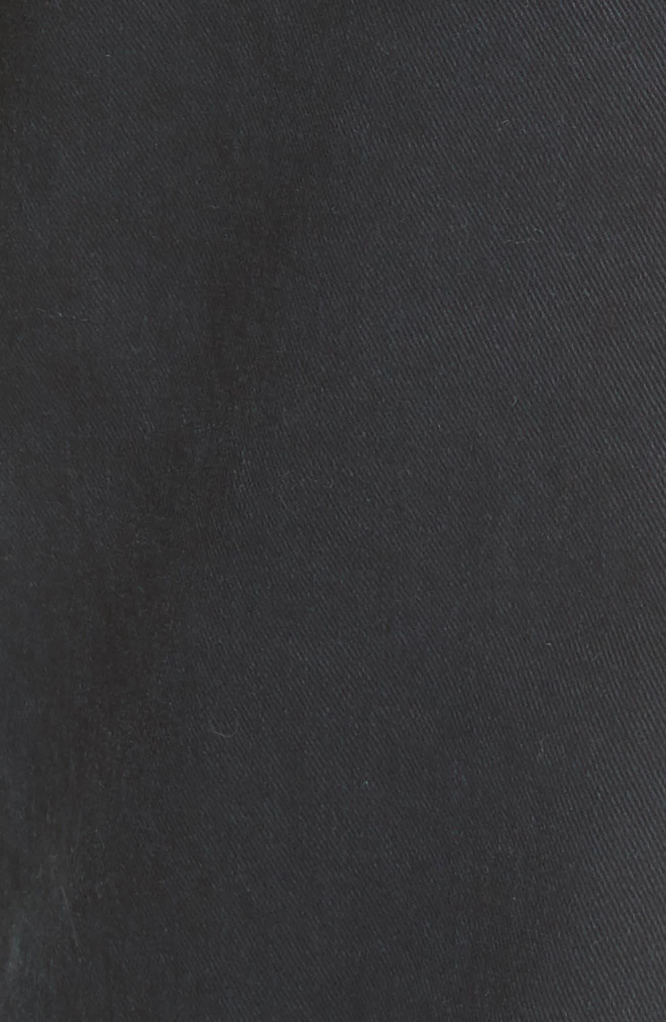 Jenna Ankle Pants,                             Alternate thumbnail 5, color,                             Dark Navy/ Green/ Gold Tape
