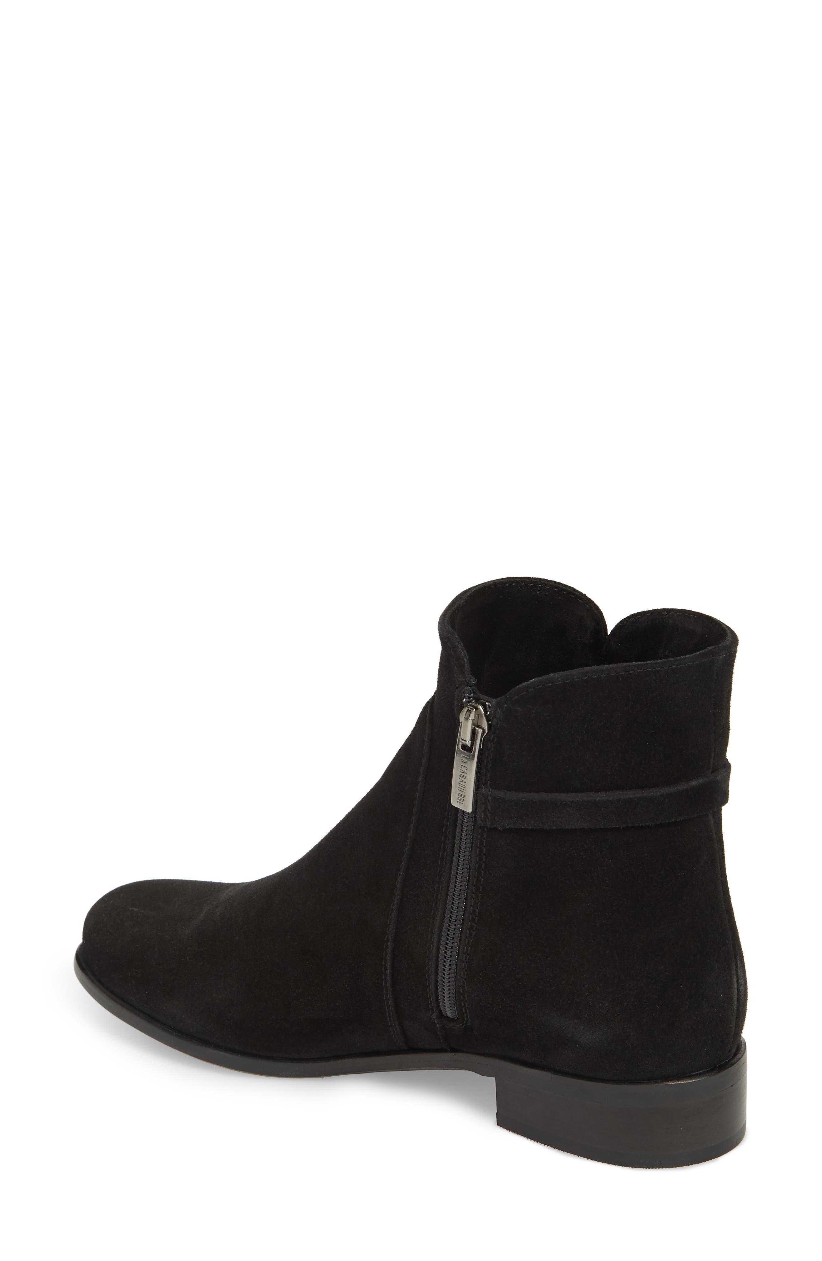 Sicilia Waterproof Boot,                             Alternate thumbnail 2, color,                             Black Suede