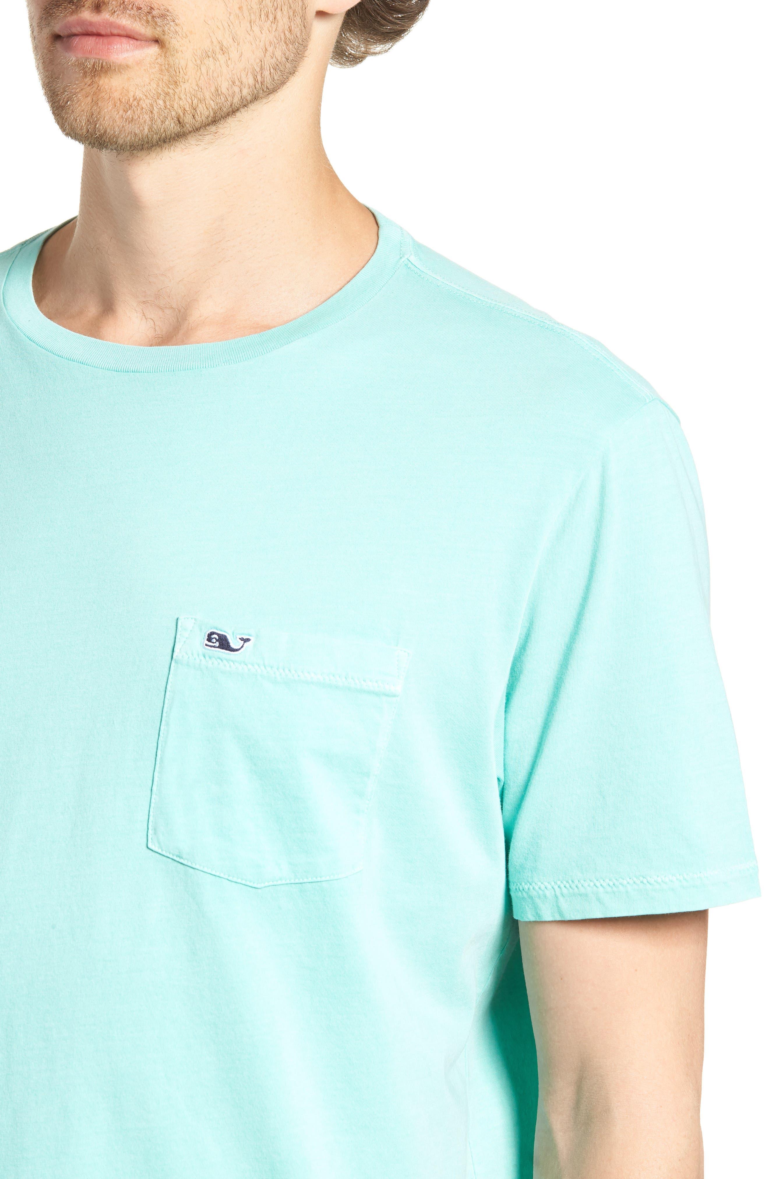 Dockside Regular Fit Crewneck T-Shirt,                             Alternate thumbnail 3, color,                             Capri Blue