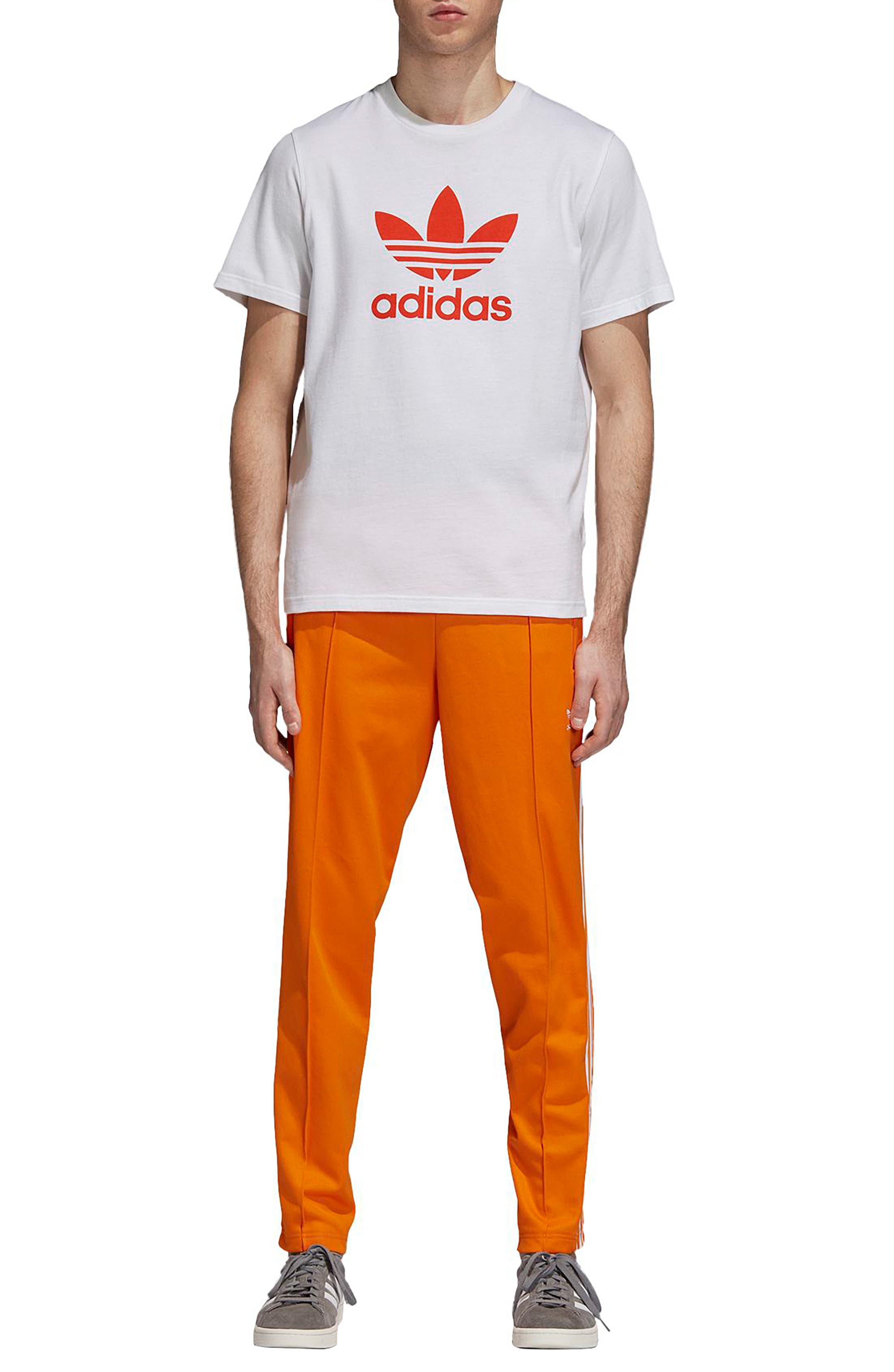 BB Track Pants,                             Alternate thumbnail 5, color,                             Bright Orange