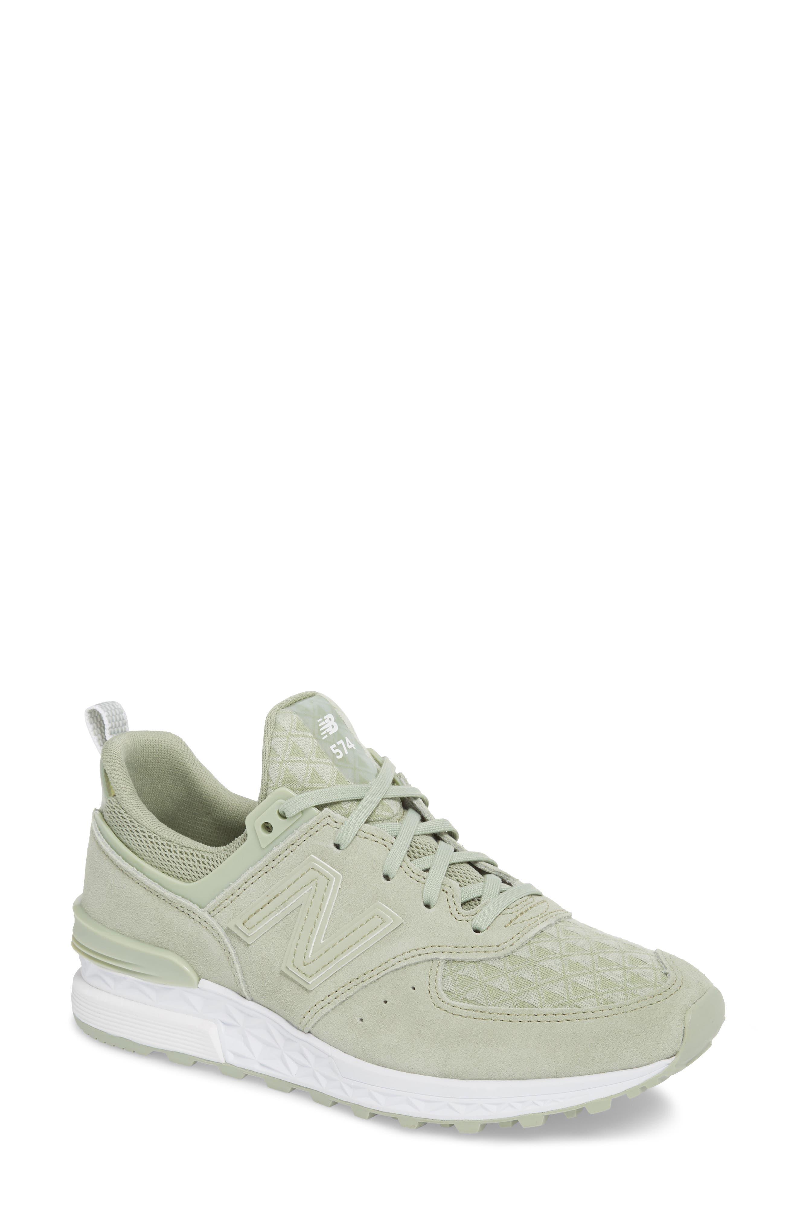 '574' Sneaker,                         Main,                         color, Silver Mint