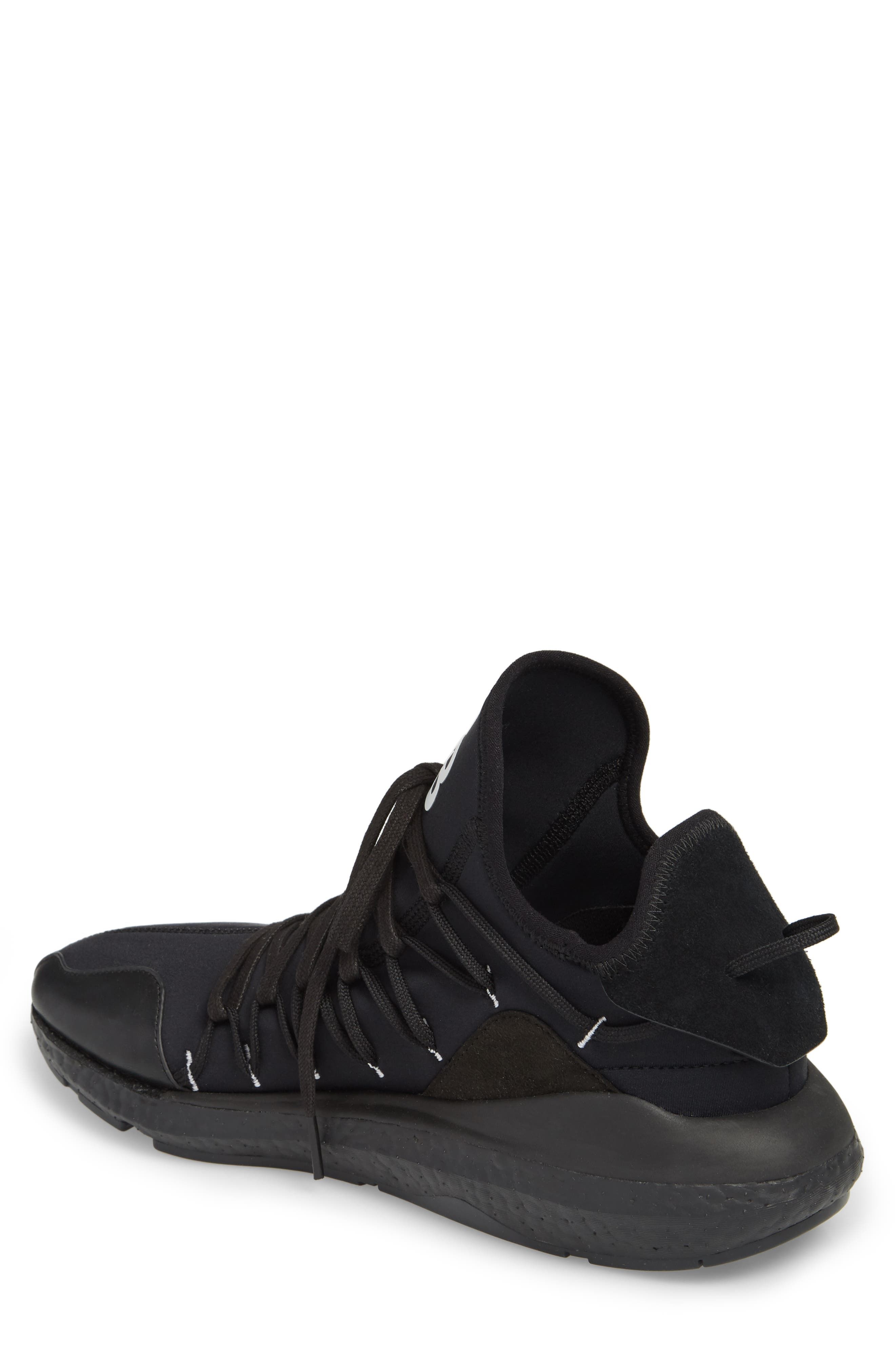 x adidas Kusari Sneaker,                             Alternate thumbnail 2, color,                             Black/Black