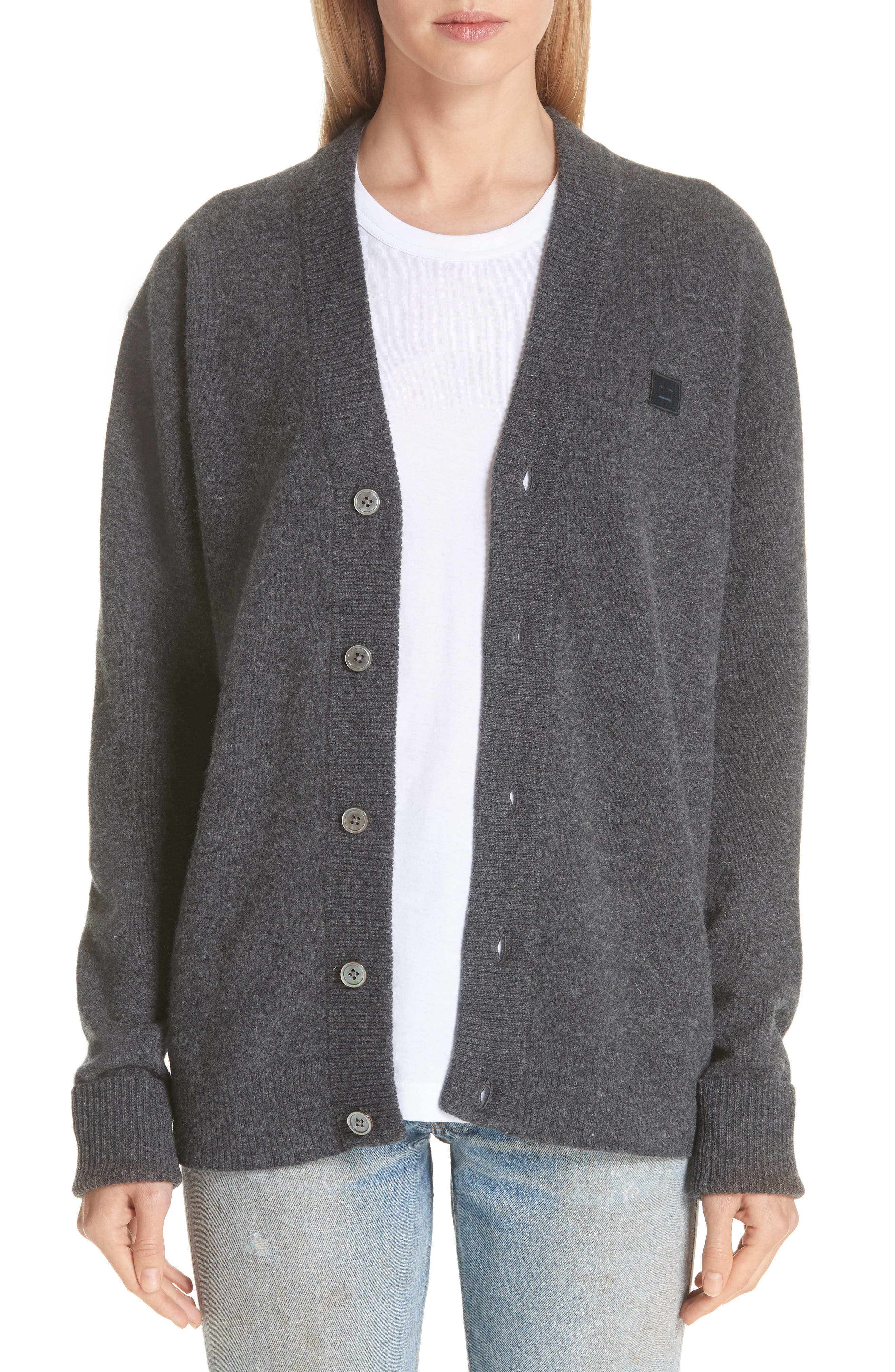 Neve Wool Cardigan by Acne Studios