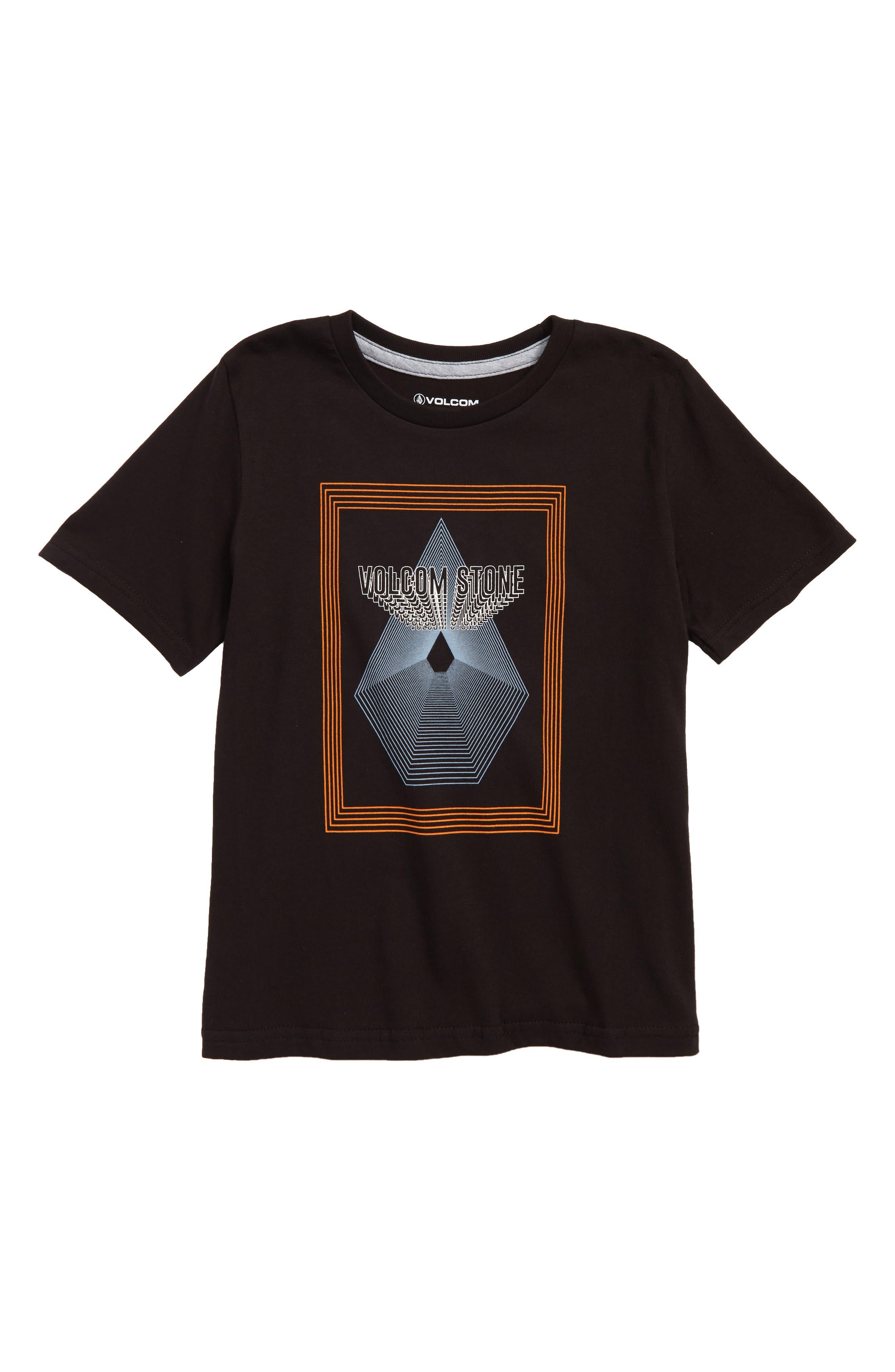 Brighten Graphic T-Shirt,                             Main thumbnail 1, color,                             Black