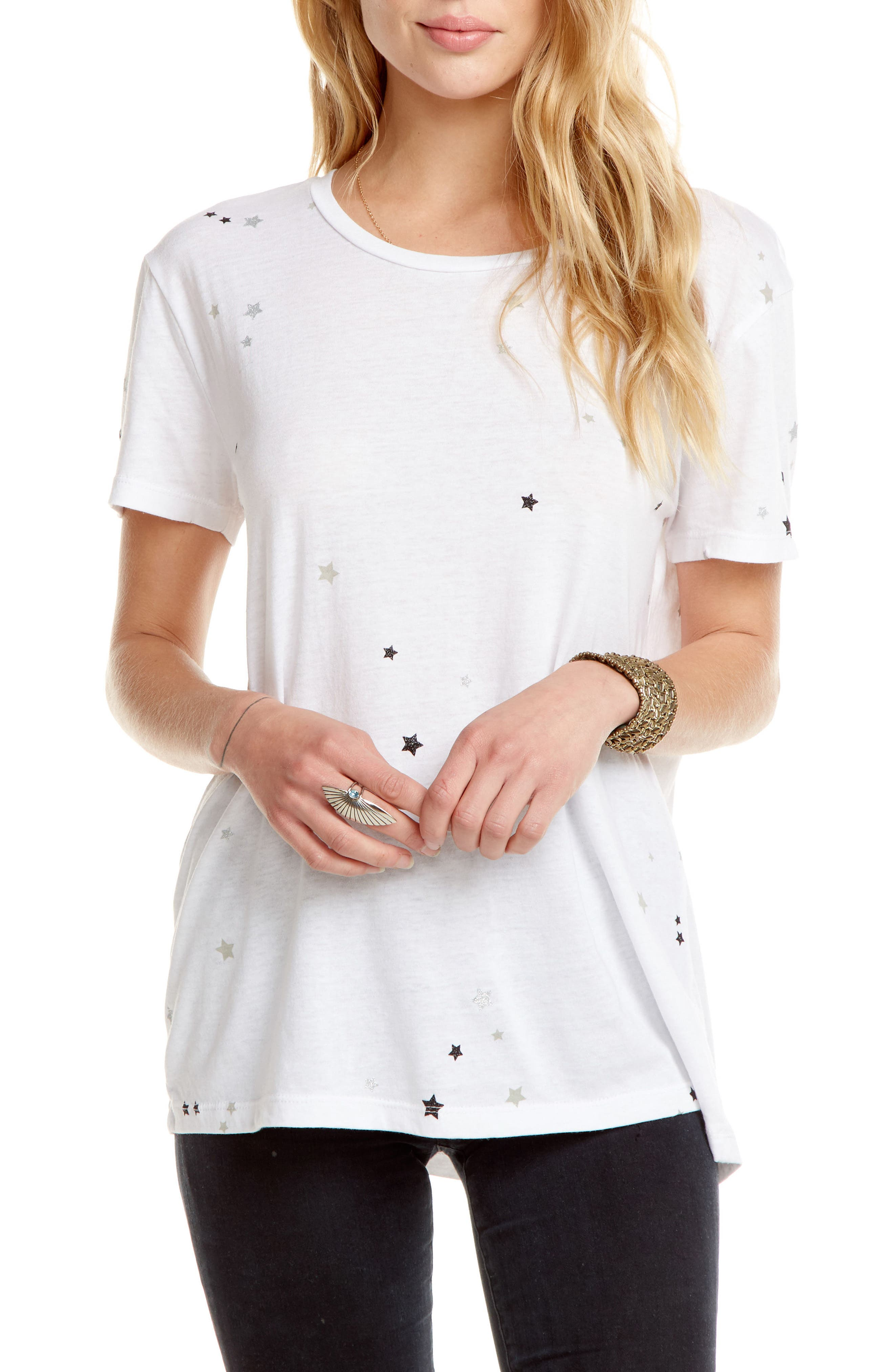 Everybody Vintage Jersey Tee,                         Main,                         color, White