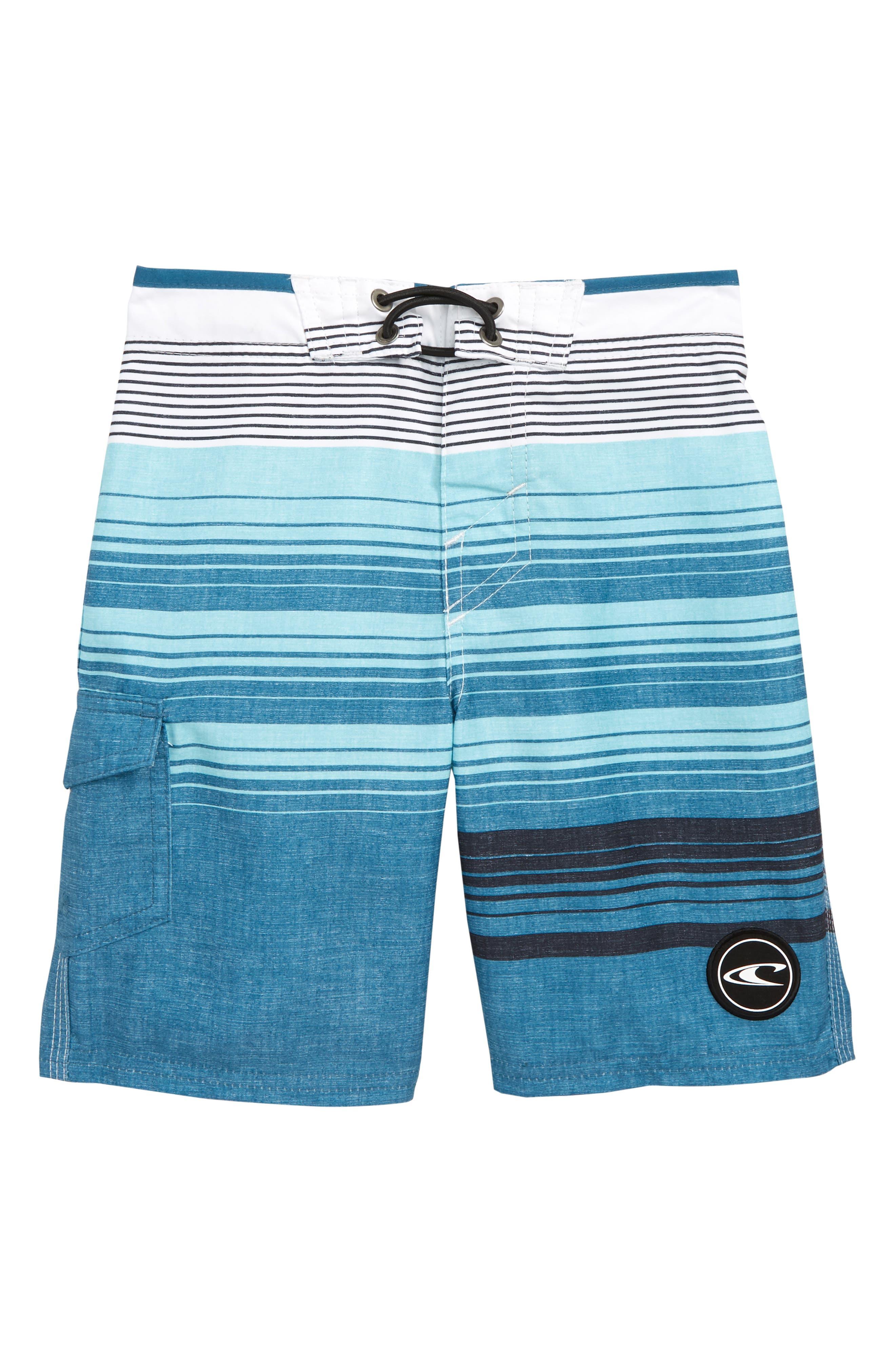 Bennett Board Shorts,                         Main,                         color, Aqua