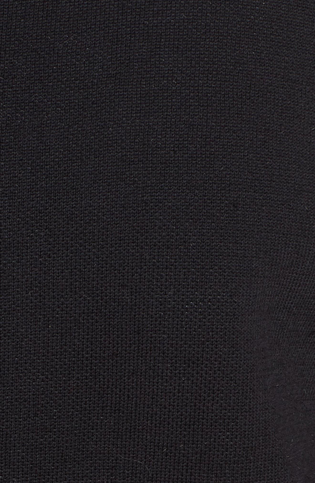 NRG Women's Knit Jacket,                             Alternate thumbnail 5, color,                             Black/ Vast Grey