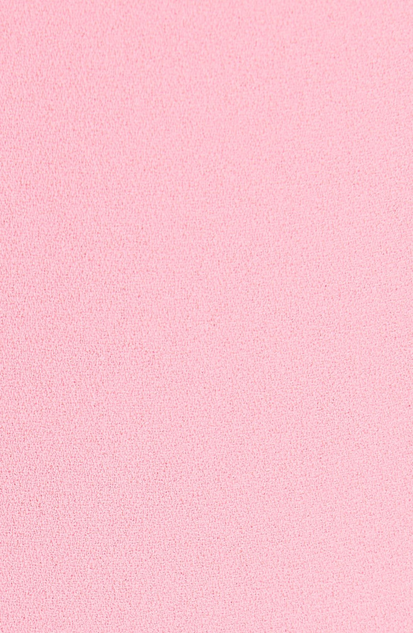 Jalisa High Waist Flare Pants,                             Alternate thumbnail 4, color,                             Bubblegum