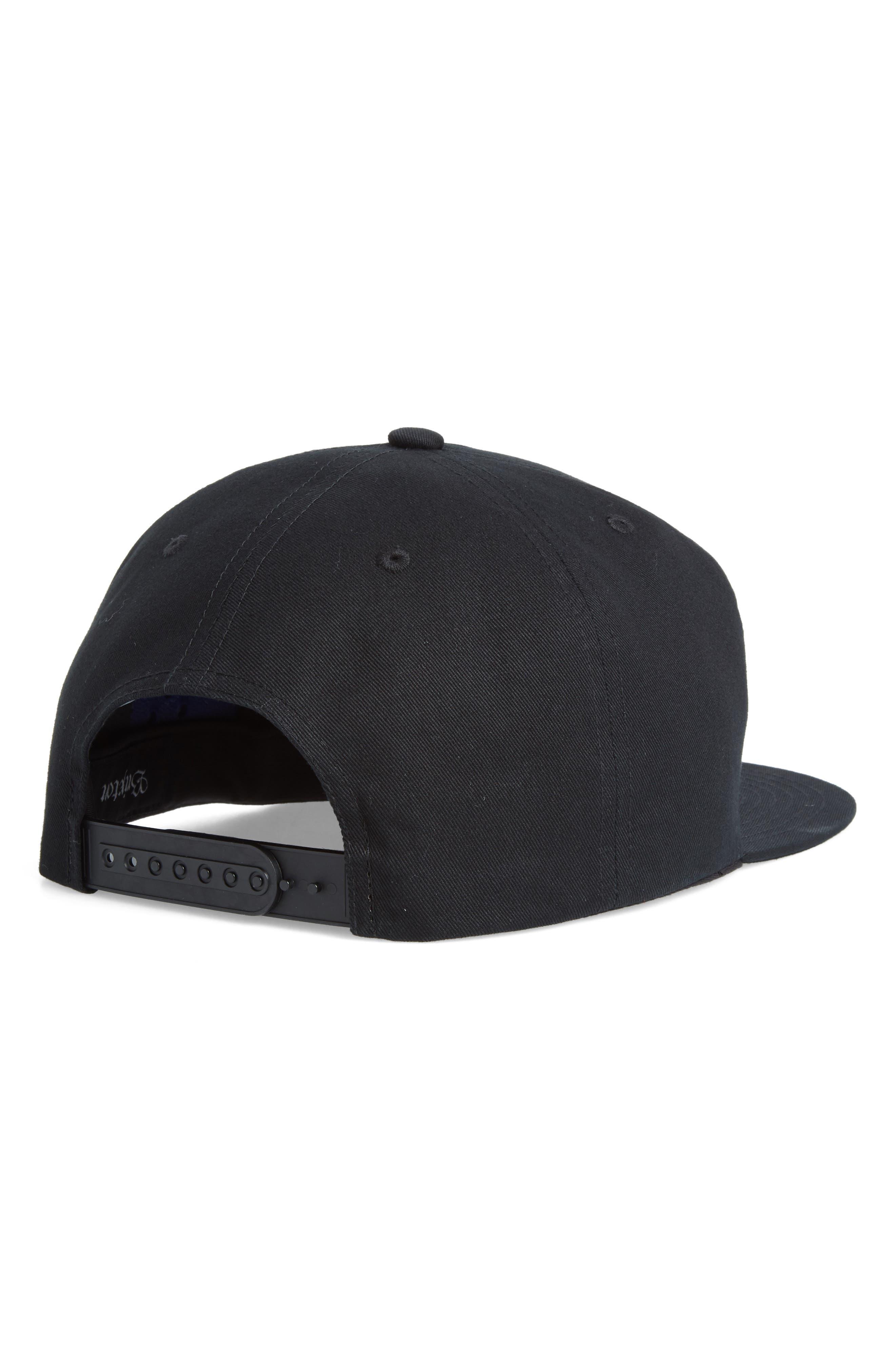 Pomona Ball Cap,                             Alternate thumbnail 2, color,                             Black