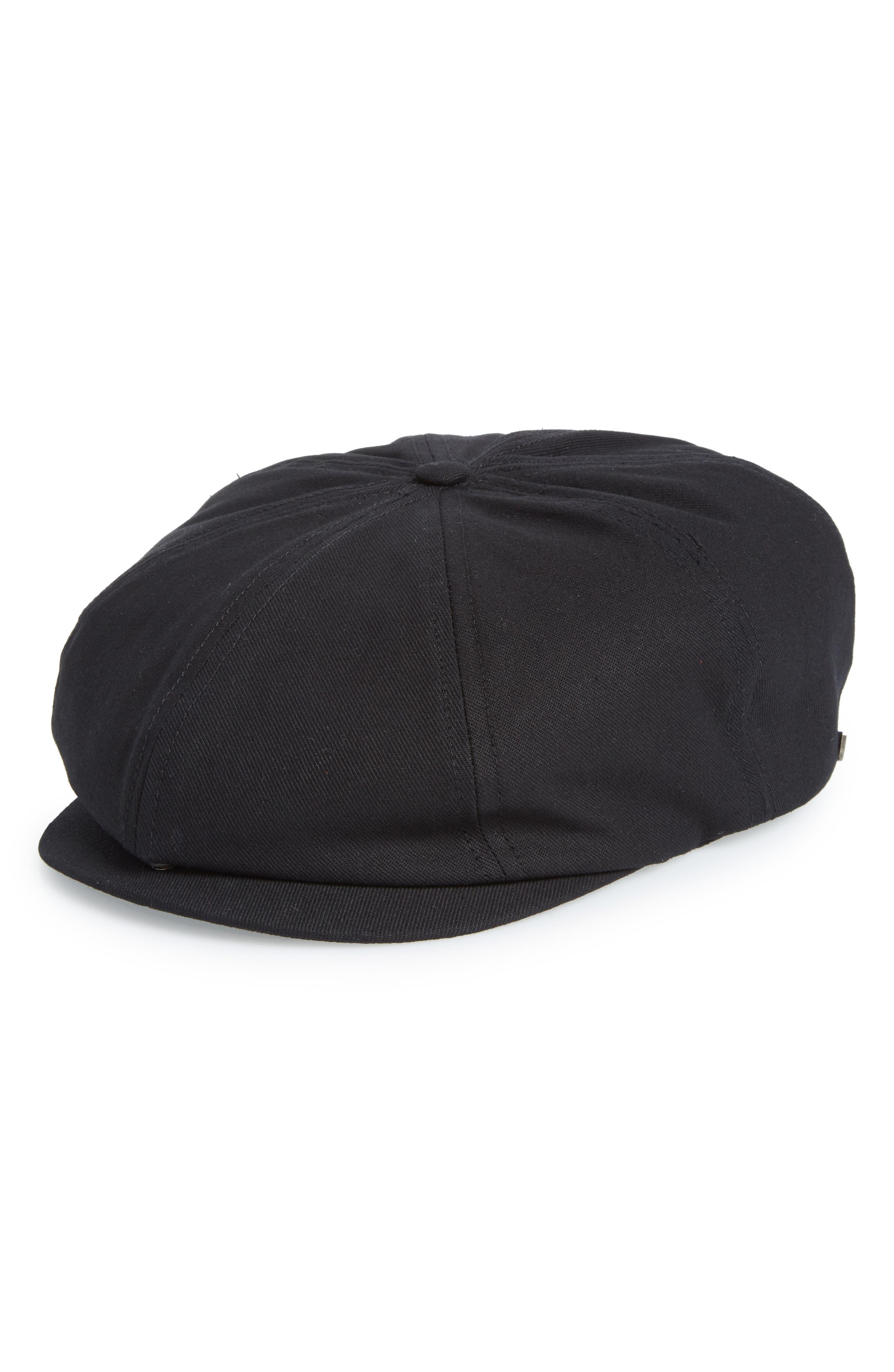 Brood Snap Brim Cap,                         Main,                         color, Black