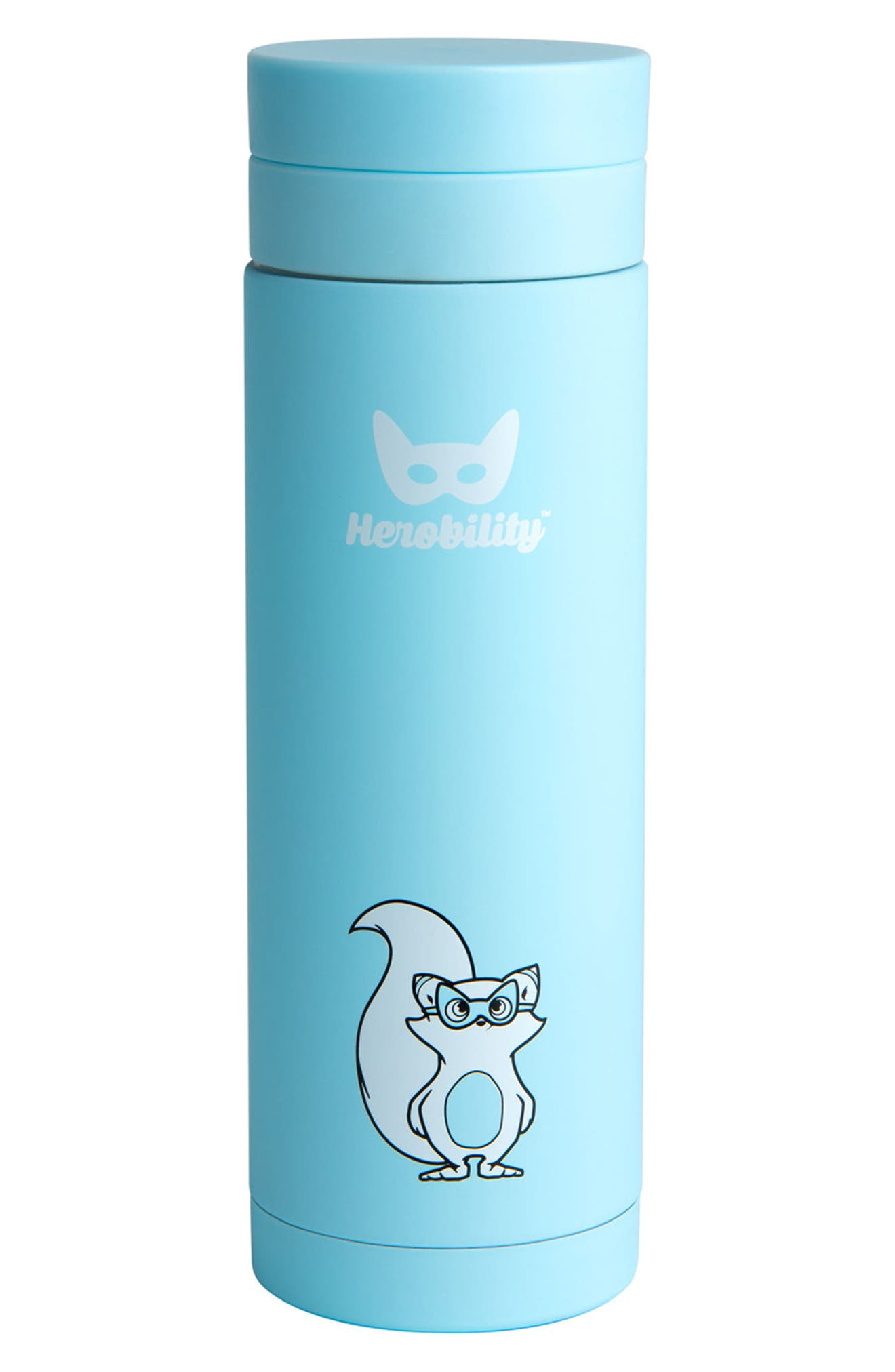 10-Ounce HeroTermos Stainless Steel Thermos,                             Main thumbnail 1, color,                             Blue
