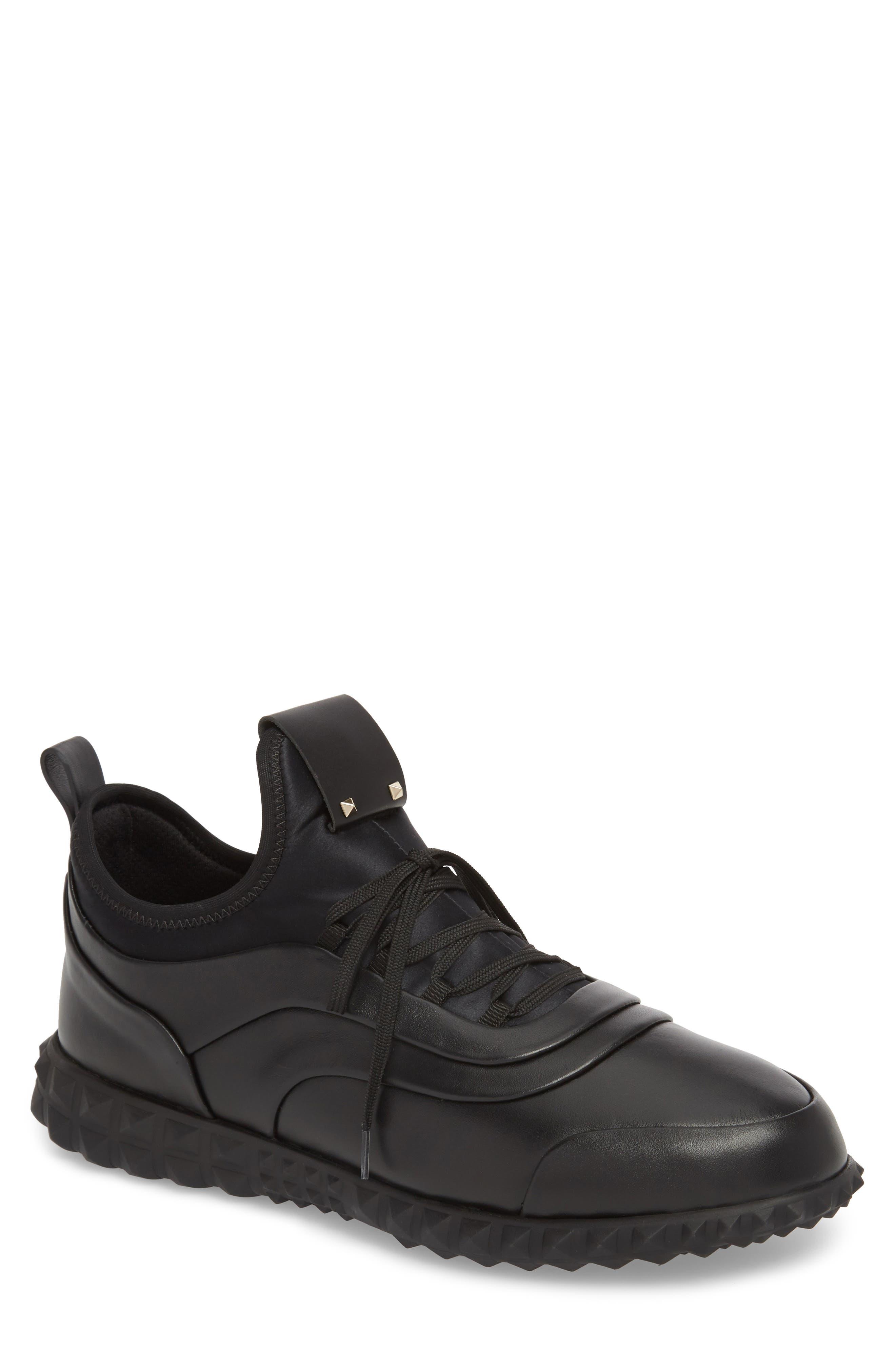 Bodytech Sneaker,                         Main,                         color, Black/ Black