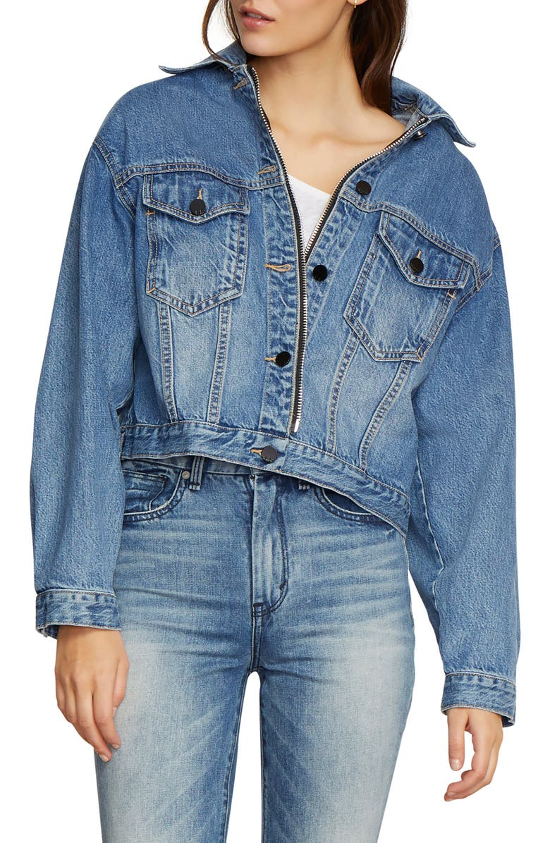 Gia Crop Denim Jacket