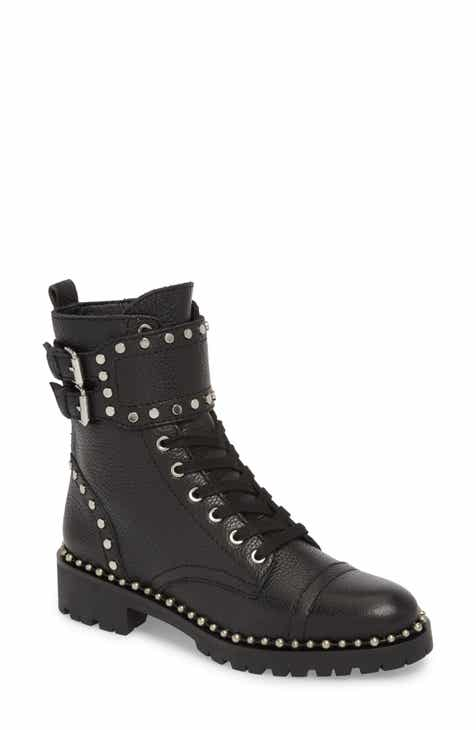 f89f05d8a828 Sam Edelman Jennifer Studded Combat Boot (Women)