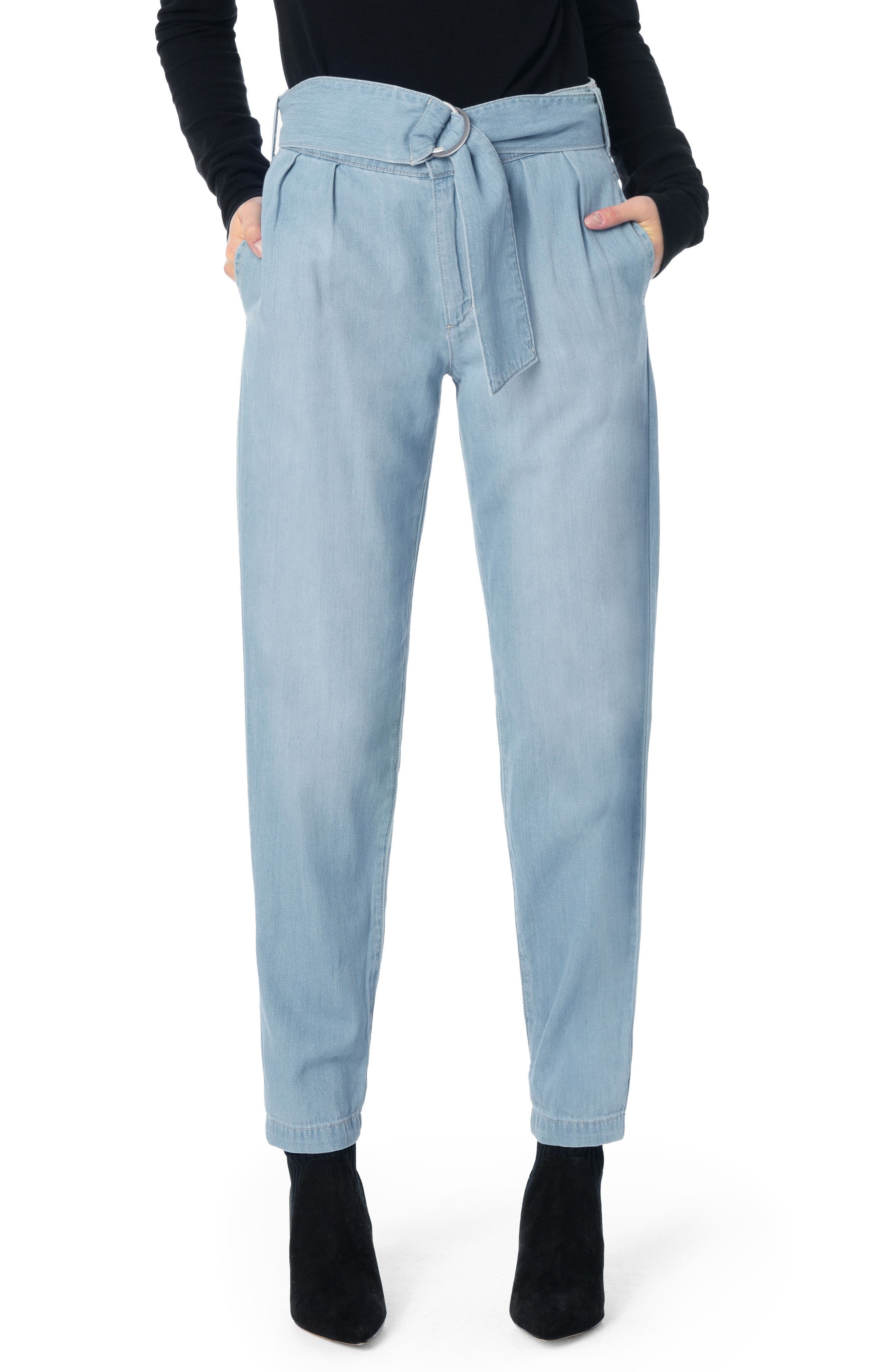 Paperbag Trouser Pants,                         Main,                         color, Marianne