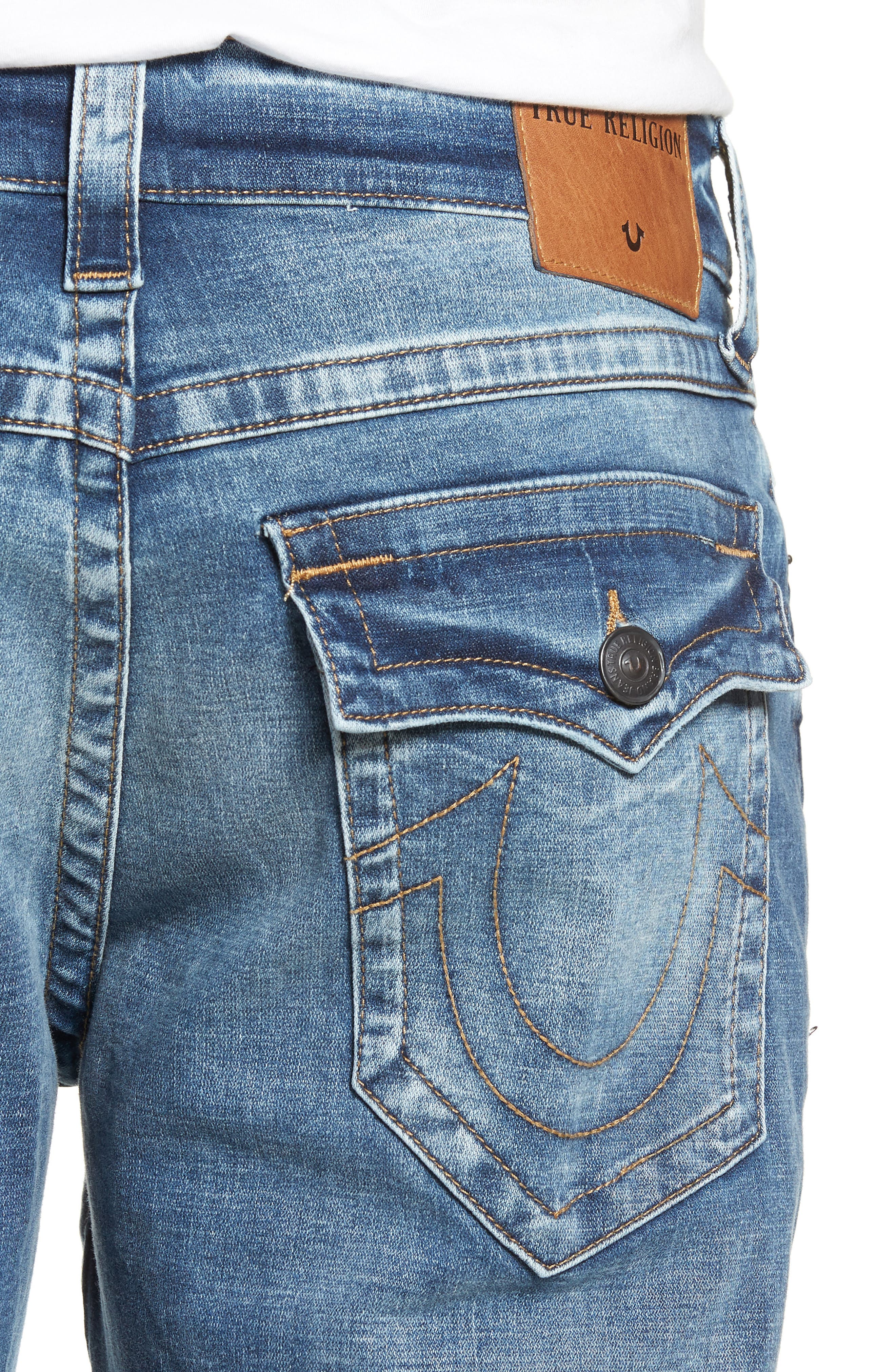 Ricky Relaxed Fit Jeans,                             Alternate thumbnail 3, color,                             Static Blue