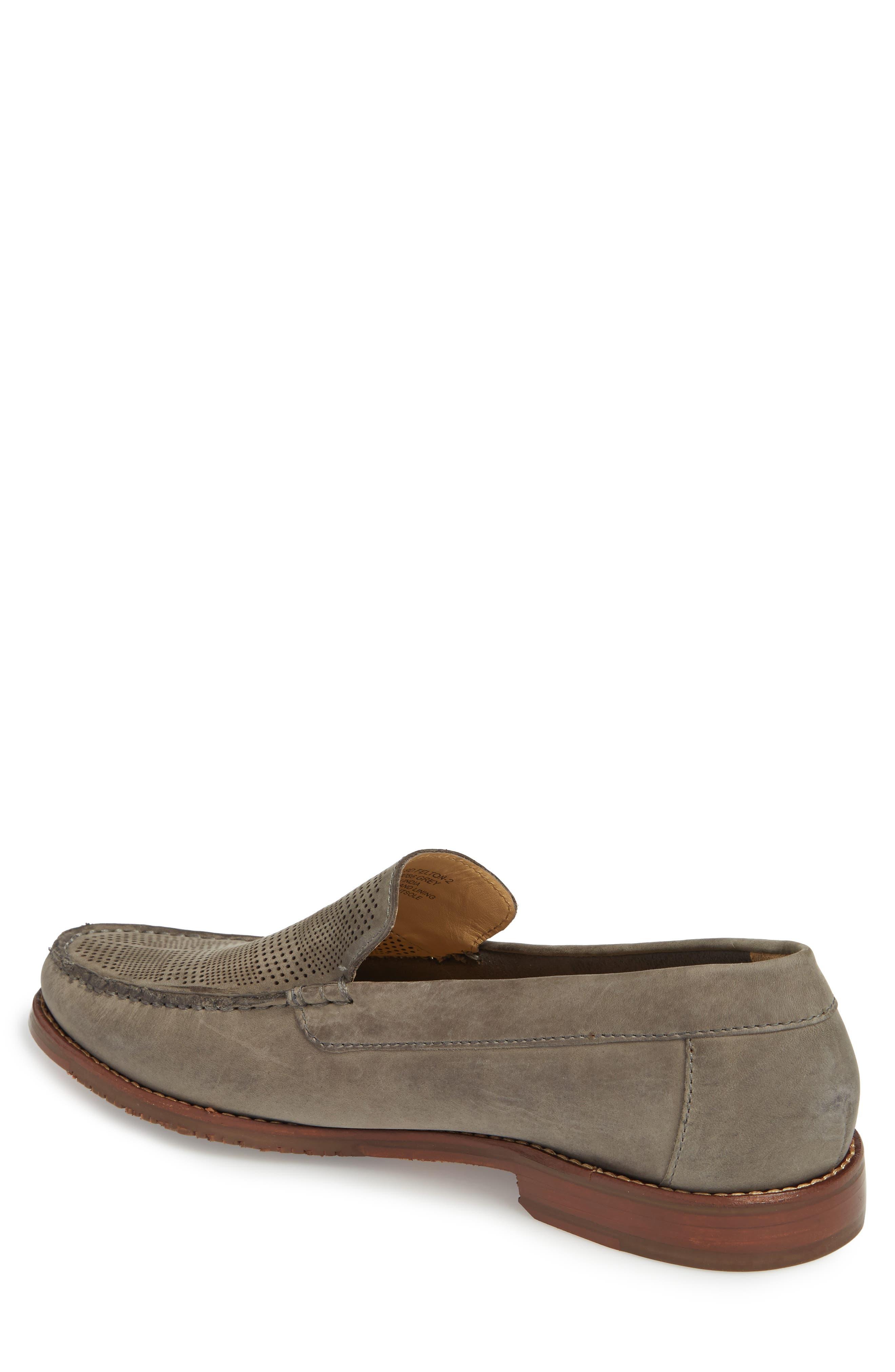 Felton II Venetian Loafer,                             Alternate thumbnail 2, color,                             Grey Nubuck