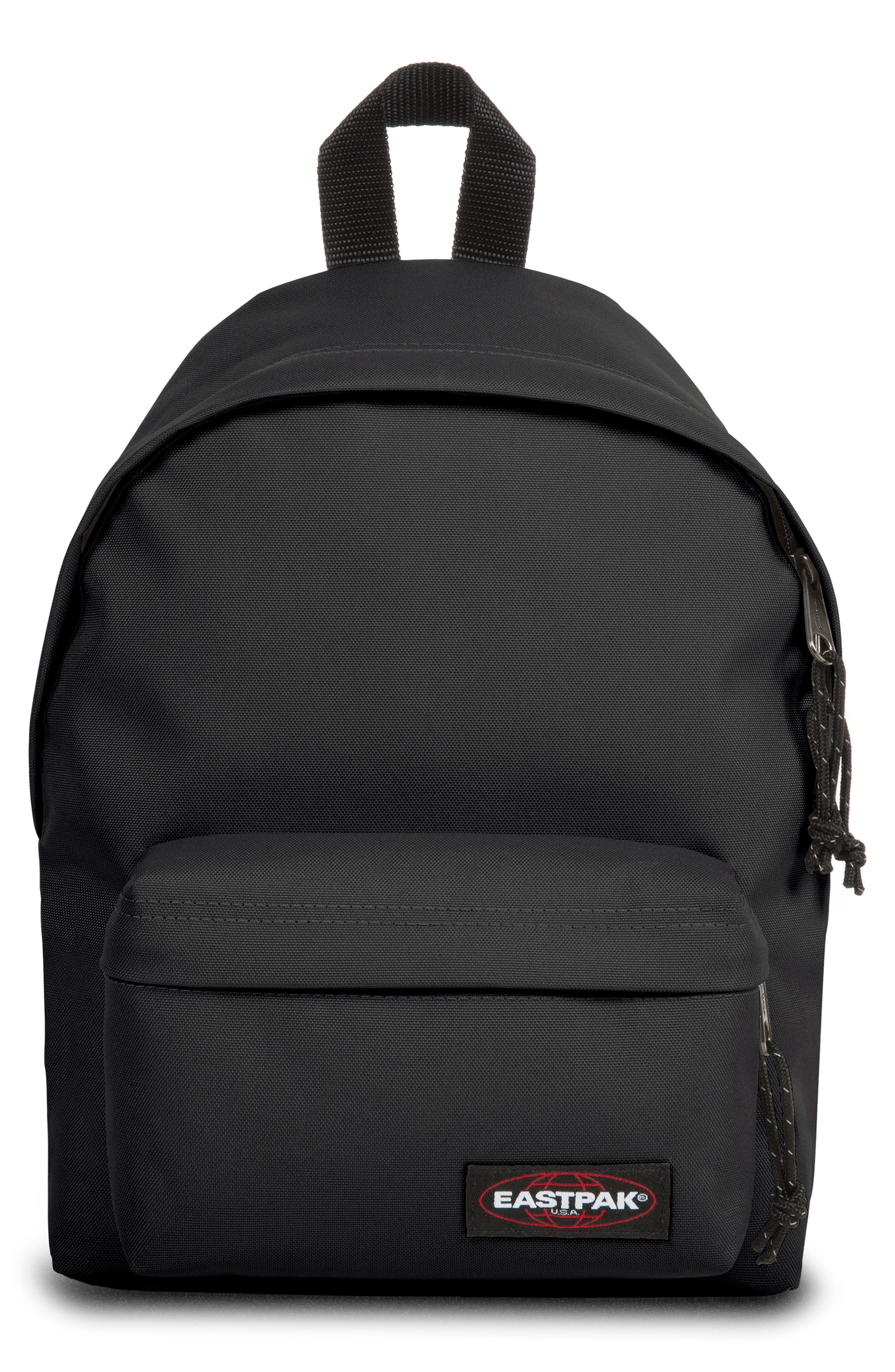 EASTPACK ORBIT CANVAS BACKPACK - BLACK