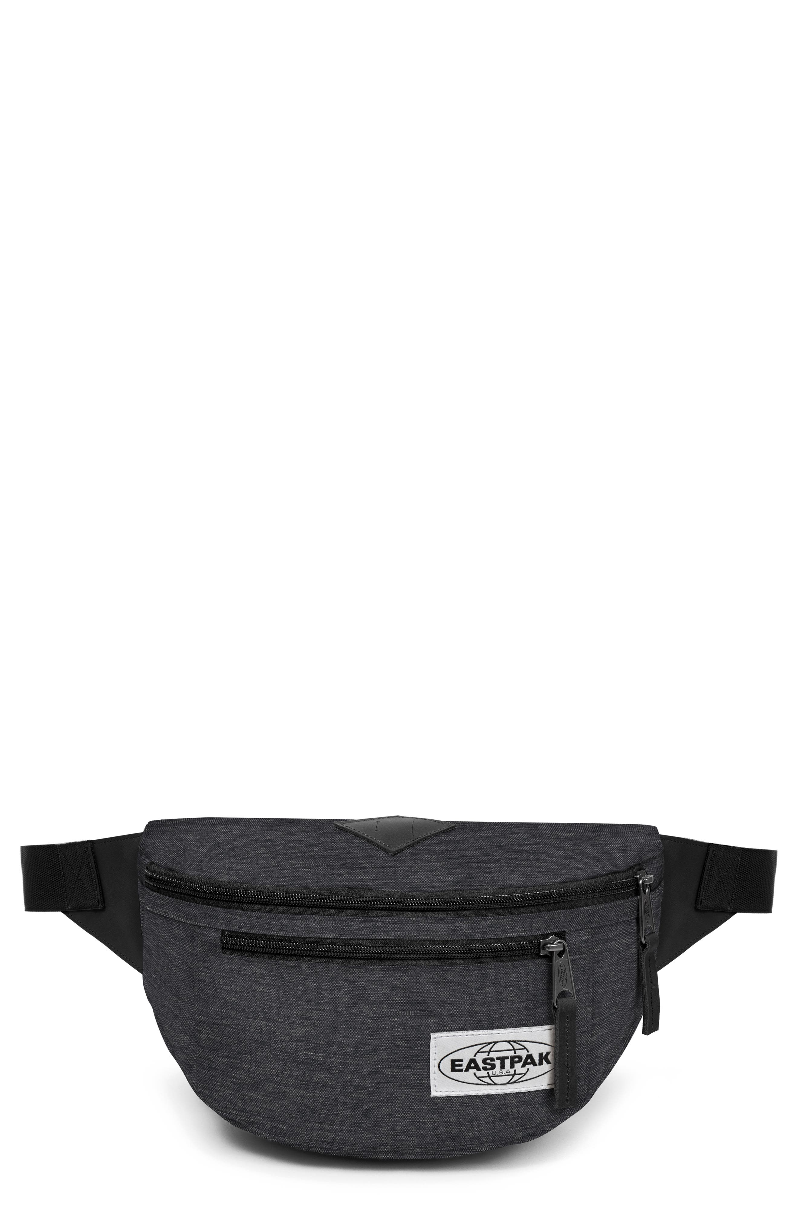 BUNDEL CANVAS BELT BAG - BLACK