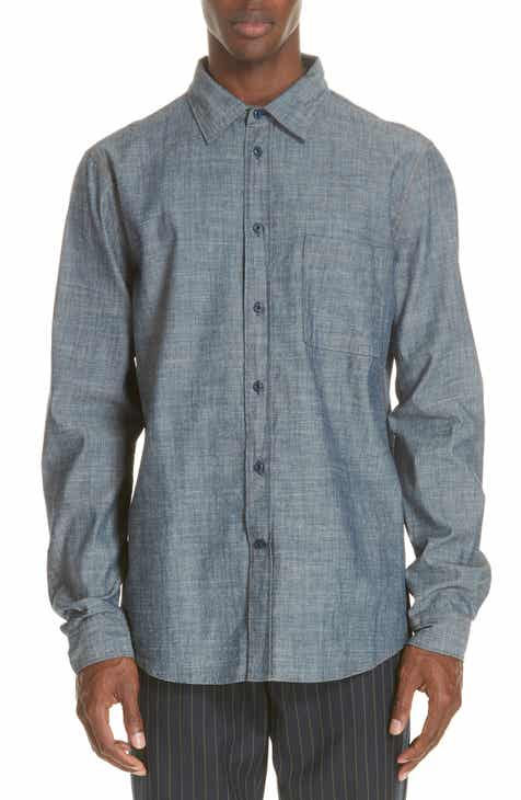 412276e8ff Acne Studios Road Chambray Sport Shirt