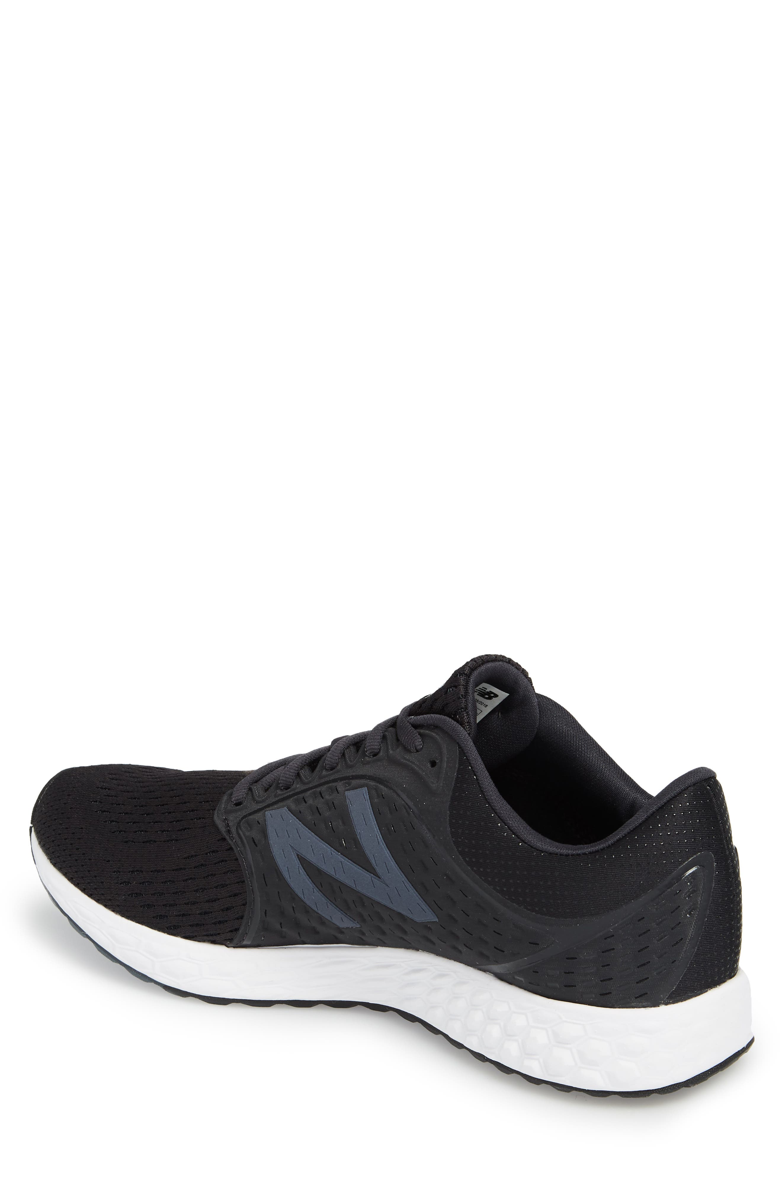 Fresh Foam Zante v4 Sneaker,                             Alternate thumbnail 2, color,                             Black