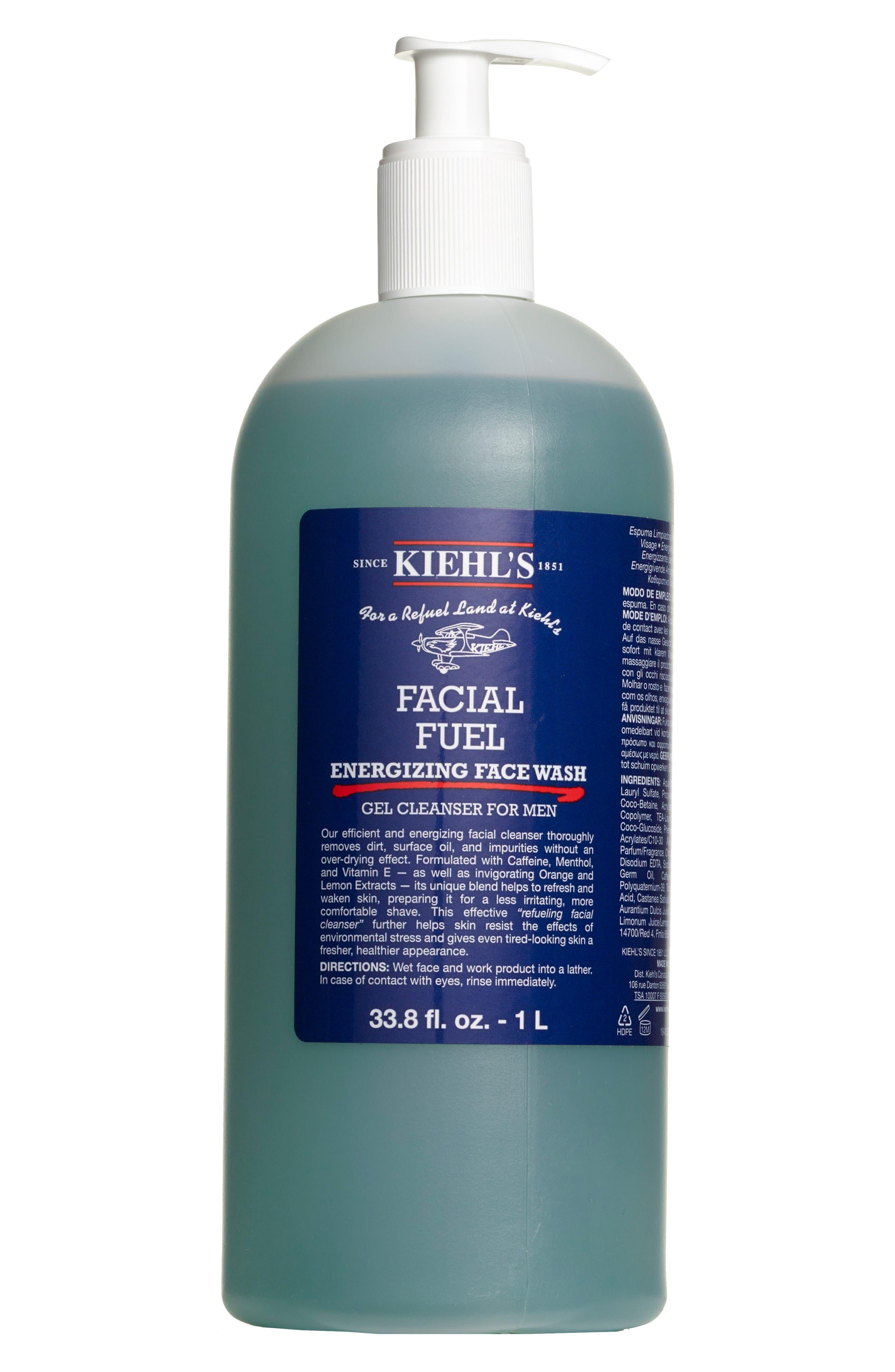 Jumbo Facial Fuel Energizing Face Wash,                         Main,                         color, No Color