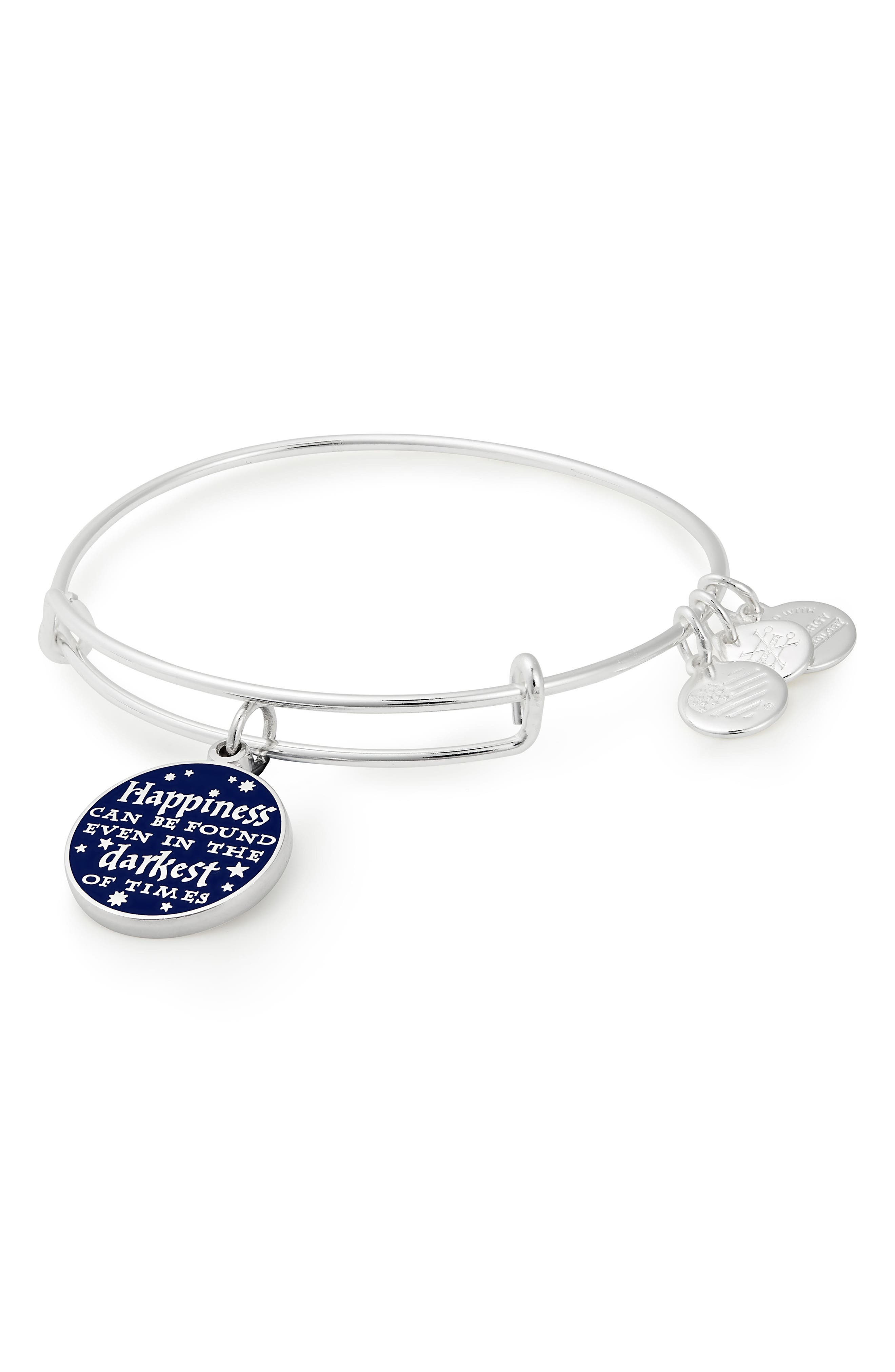 HARRY POTTER(TM) HAPPINESS CAN BE FOUND ADJUSTABLE CHARM BRACELET