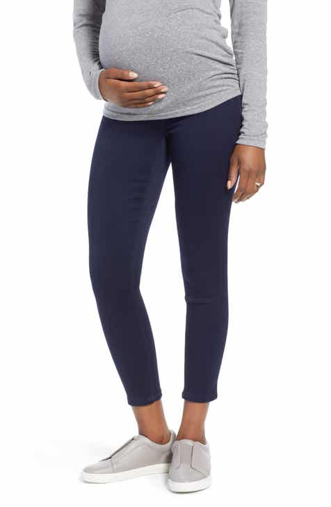 1822 Denim Butter Ankle Super Skinny Maternity Jeans (Rinse)