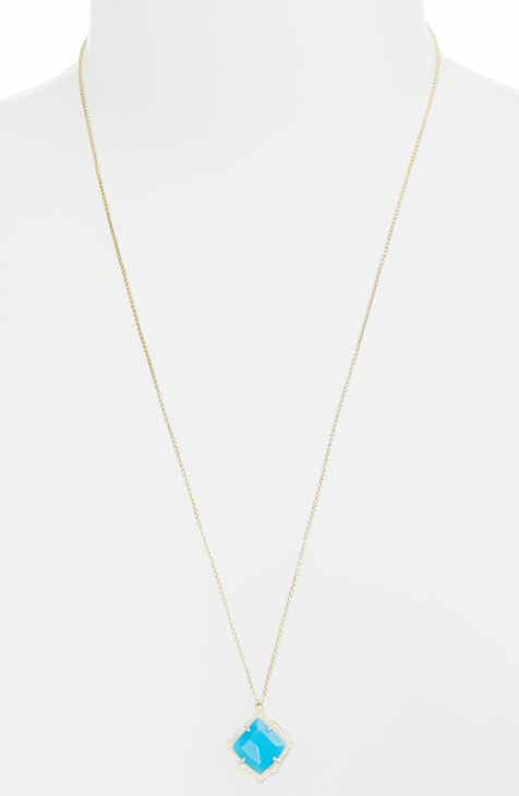 Womens long strand necklaces nordstrom kendra scott kacey adjustable pendant necklace aloadofball Gallery