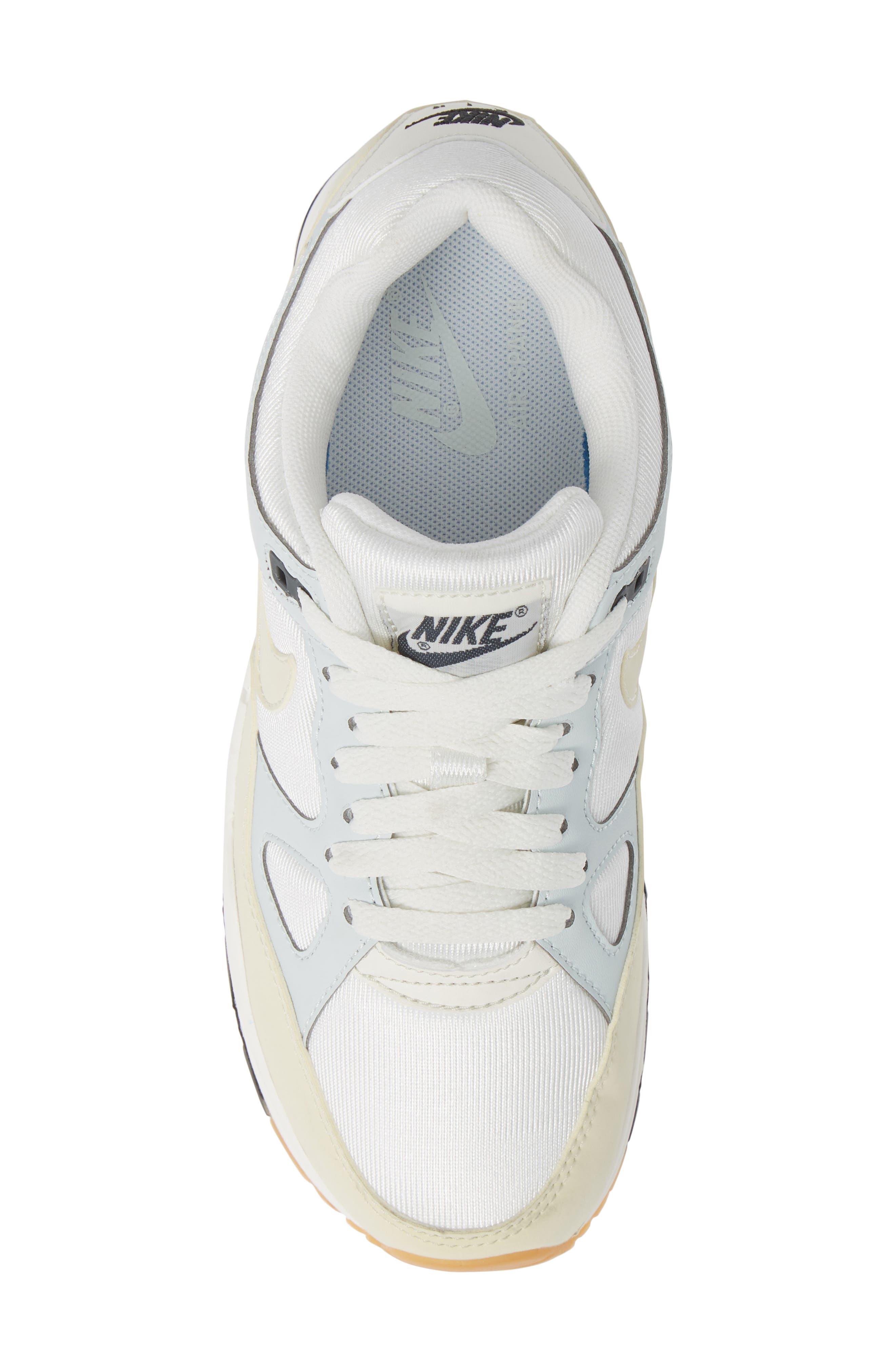 Air Span II Sneaker,                             Alternate thumbnail 5, color,                             Sail/ Fossil-Barely Grey-Black