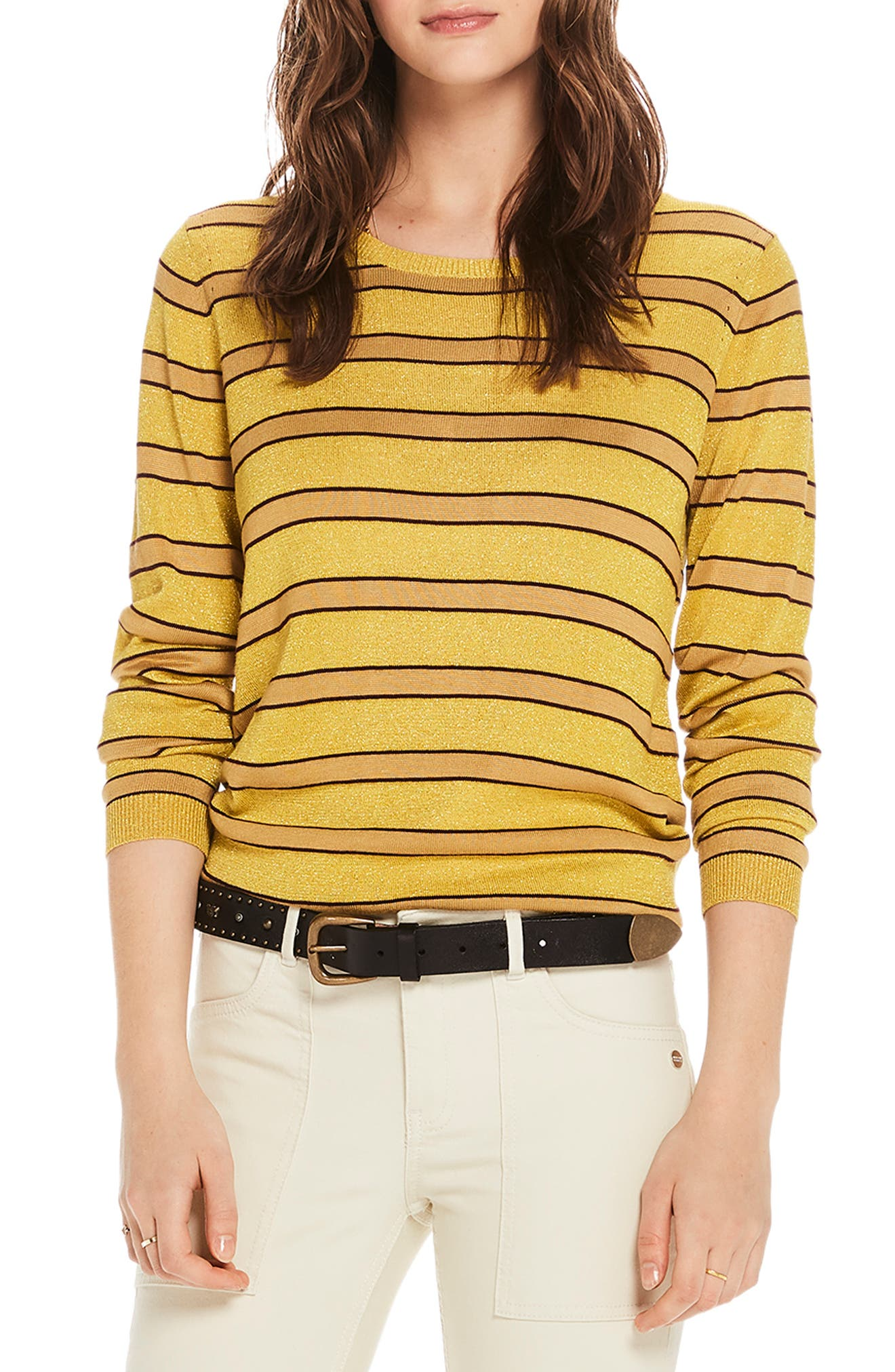 STRIPE CREWNECK SWEATER from Nordstrom